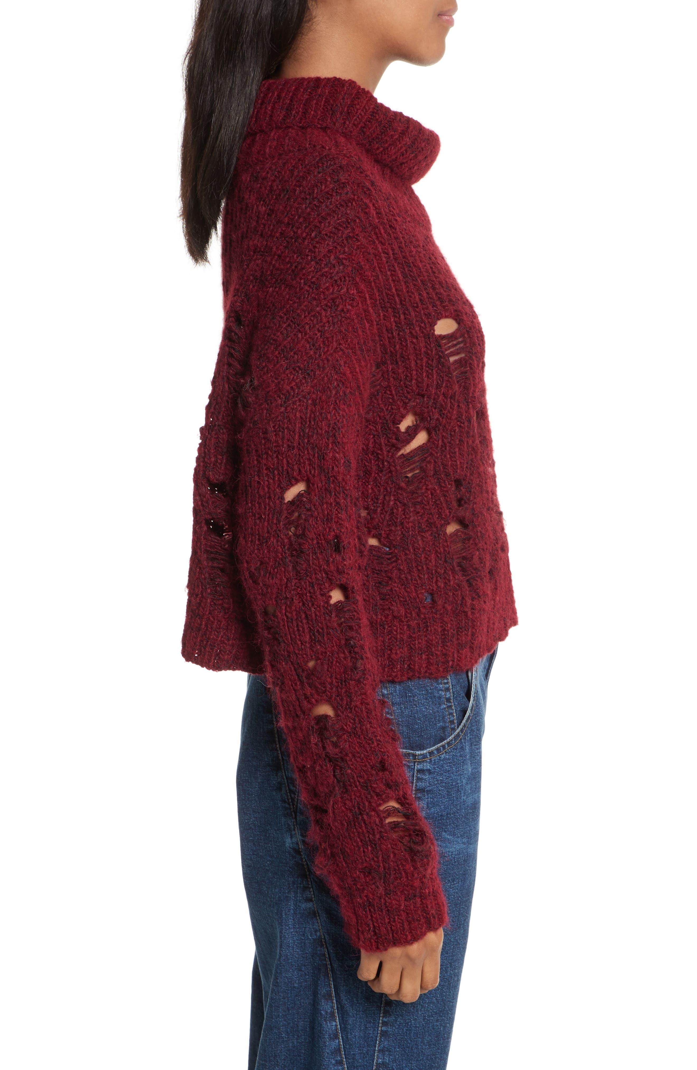 Alternate Image 4  - Rachel Comey Tigris Crop Turtleneck Sweater