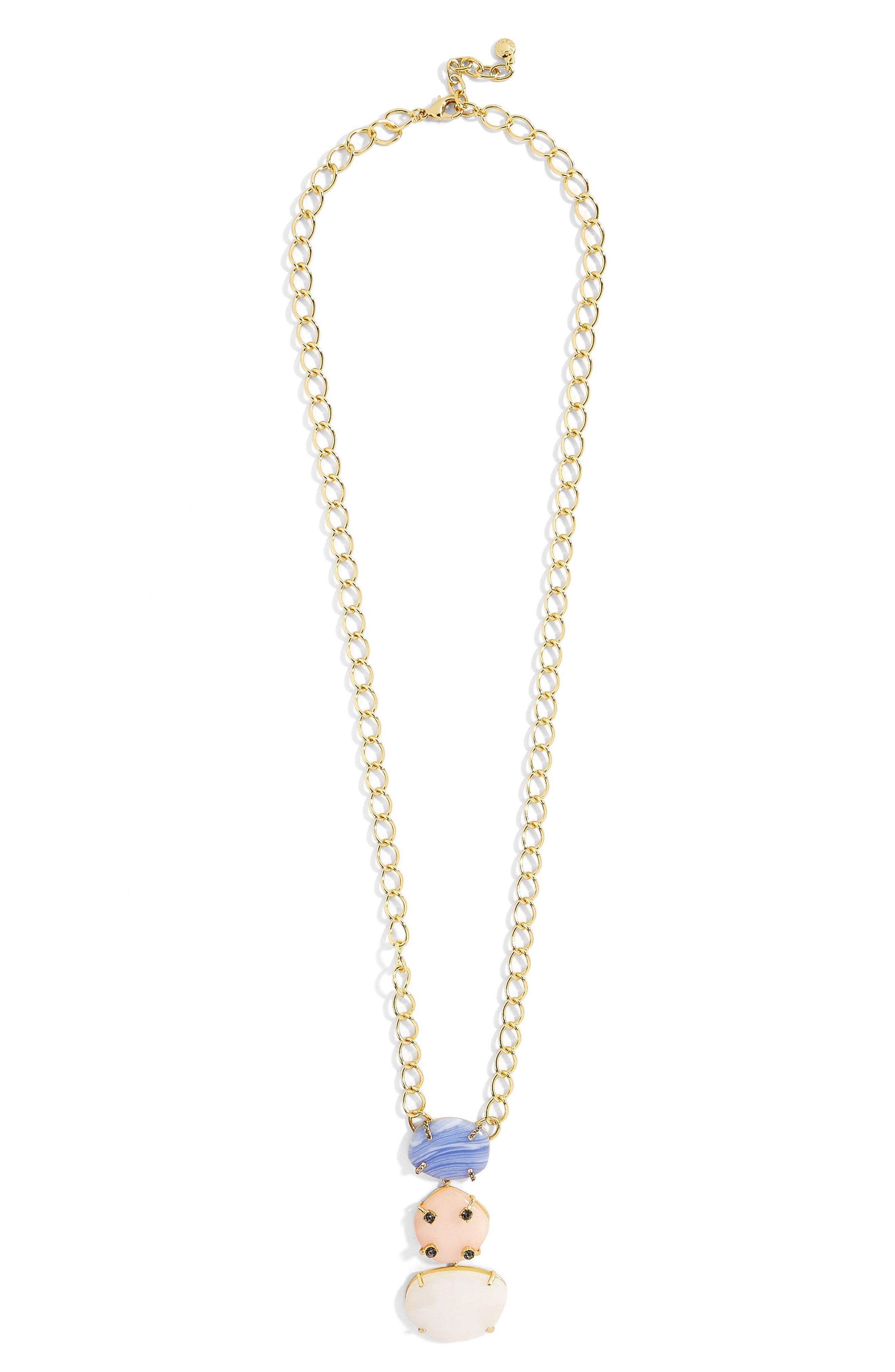 Karmah Pendant Necklace,                         Main,                         color, Multi/ Gold