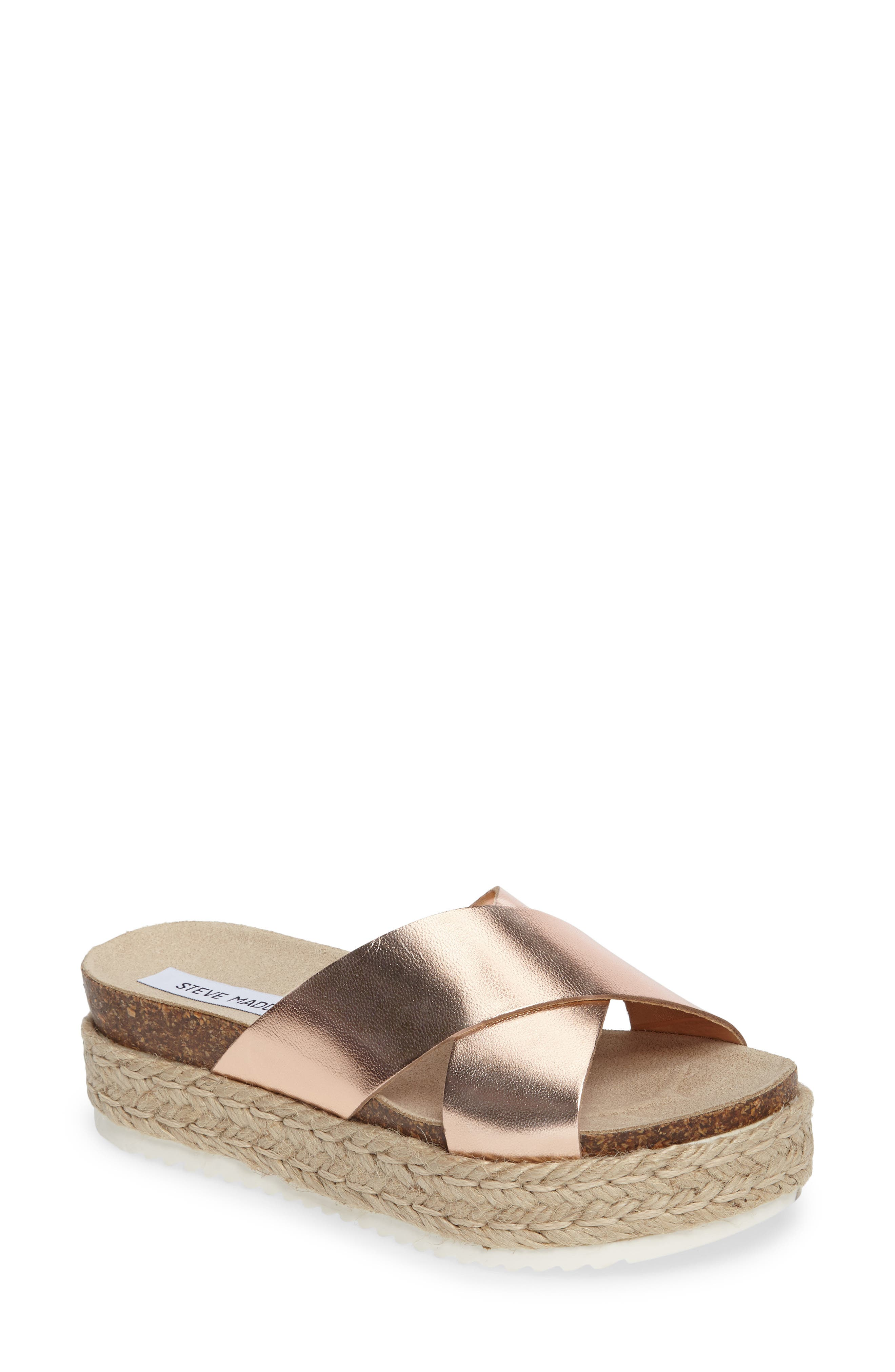 Alternate Image 1 Selected - Steve Madden 'Arran' Espadrille Platform Sandal (Women)