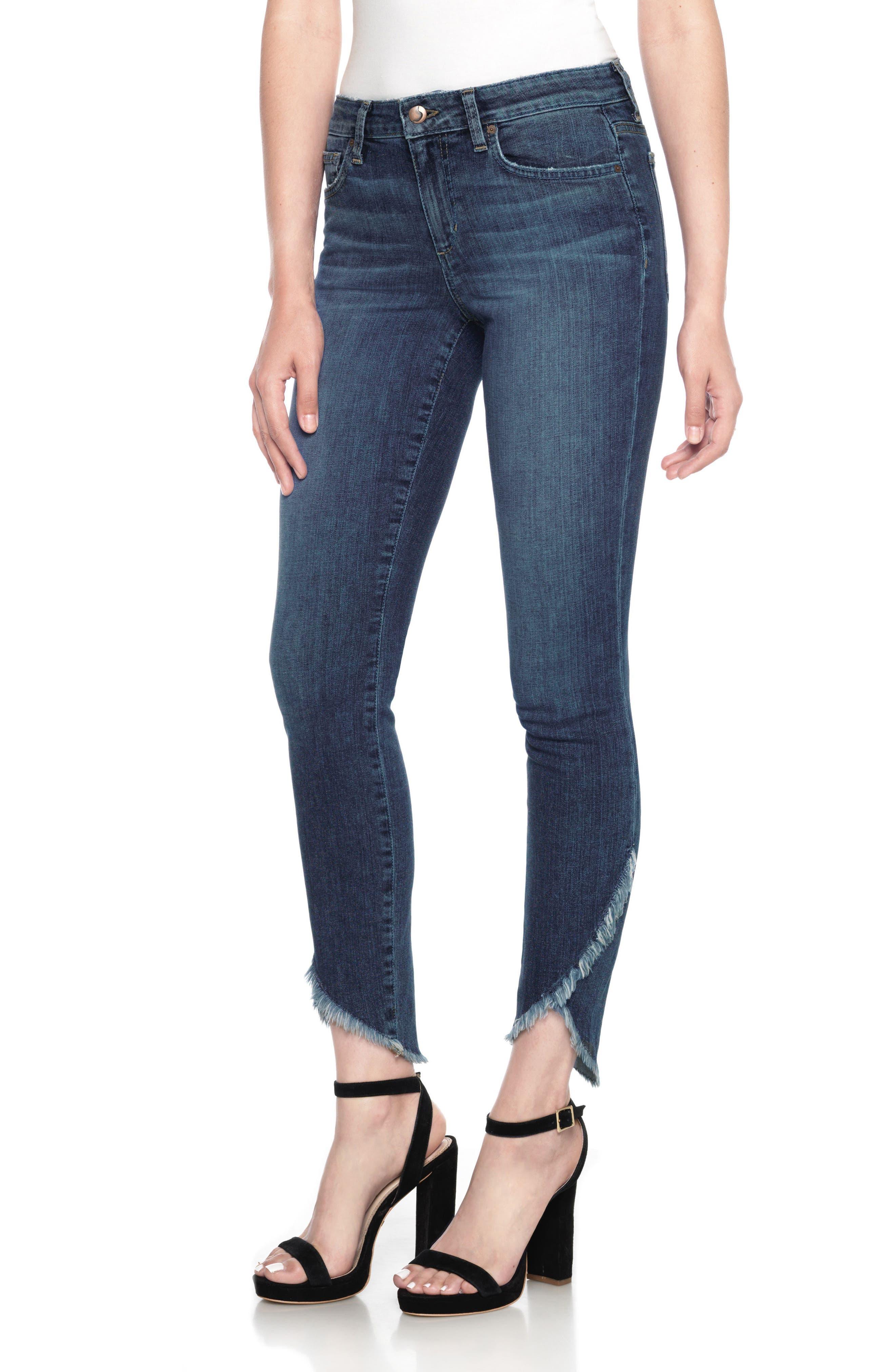Alternate Image 1 Selected - Joe's Icon Tulip Hem Ankle Jeans (Salem)