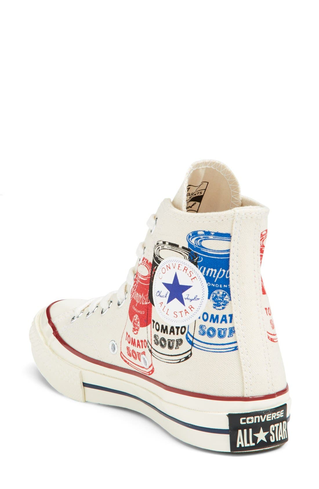 Alternate Image 2  - Converse Chuck Taylor® All Star® '70 Andy Warhol Collection High Top Sneaker (Women)