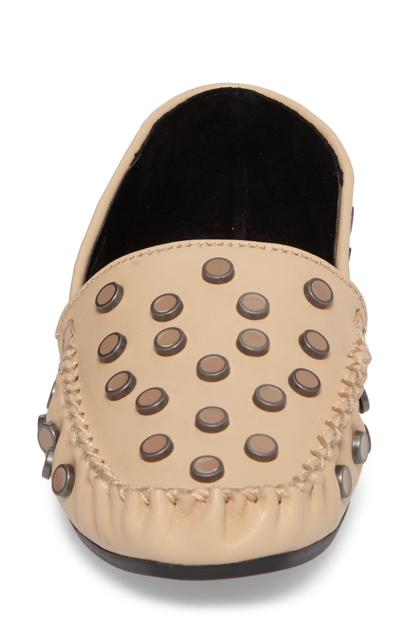 M4D3 Conneticut Loafer,                             Alternate thumbnail 4, color,                             Bisque Leather