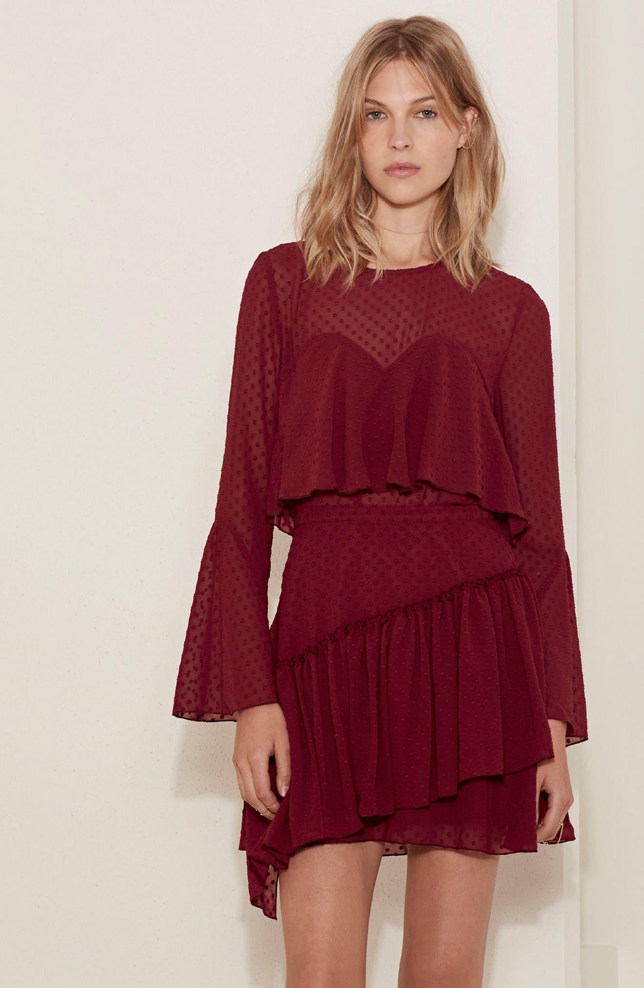Alternate Image 9  - The Fifth Label Swiss Dot Ruffle Skirt