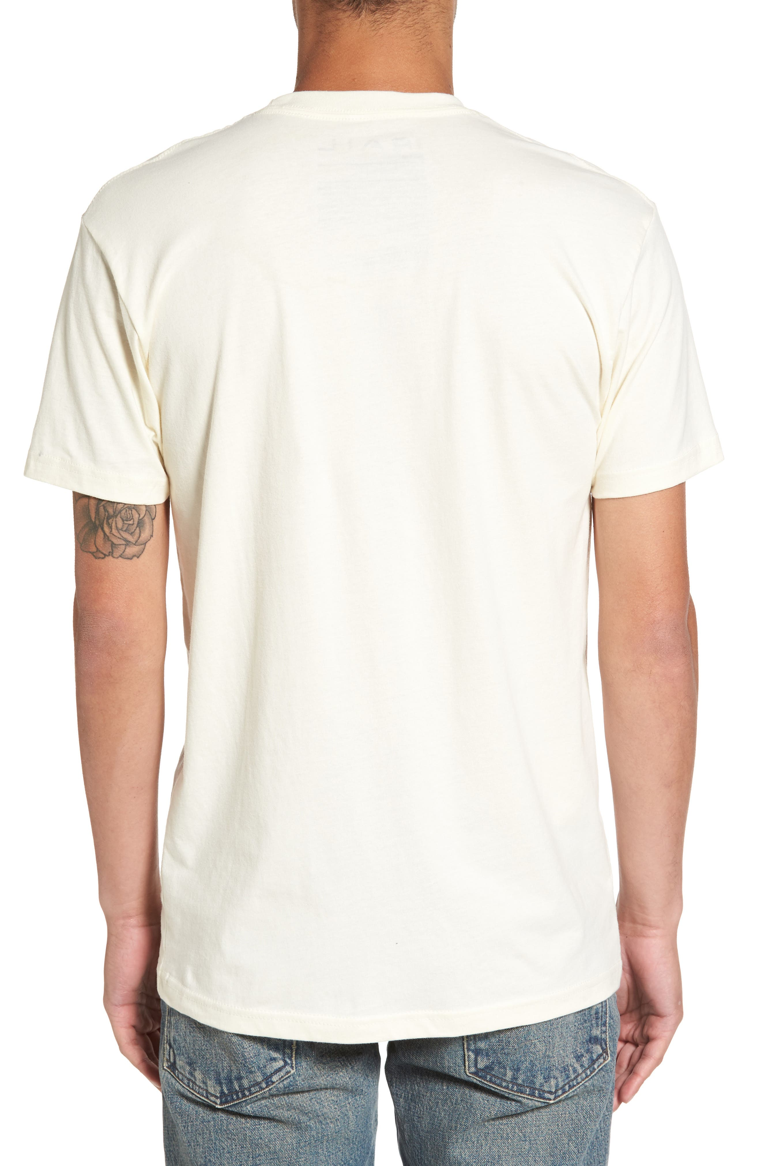 Graphic T-Shirt,                             Alternate thumbnail 2, color,                             Ivory Doors