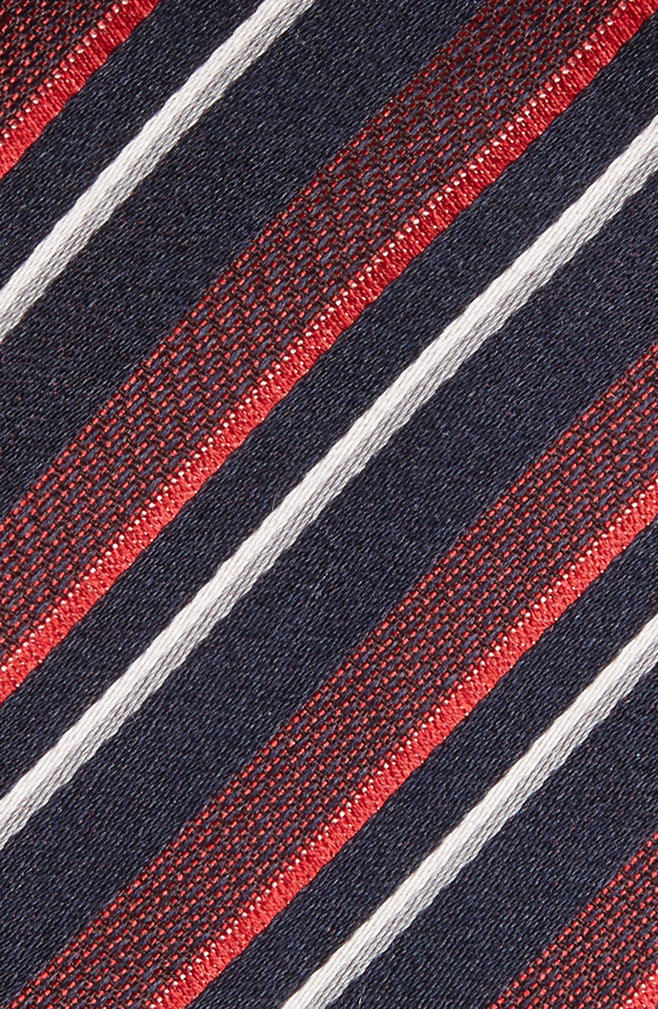 Alternate Image 2  - BOSS Stripe Silk Tie