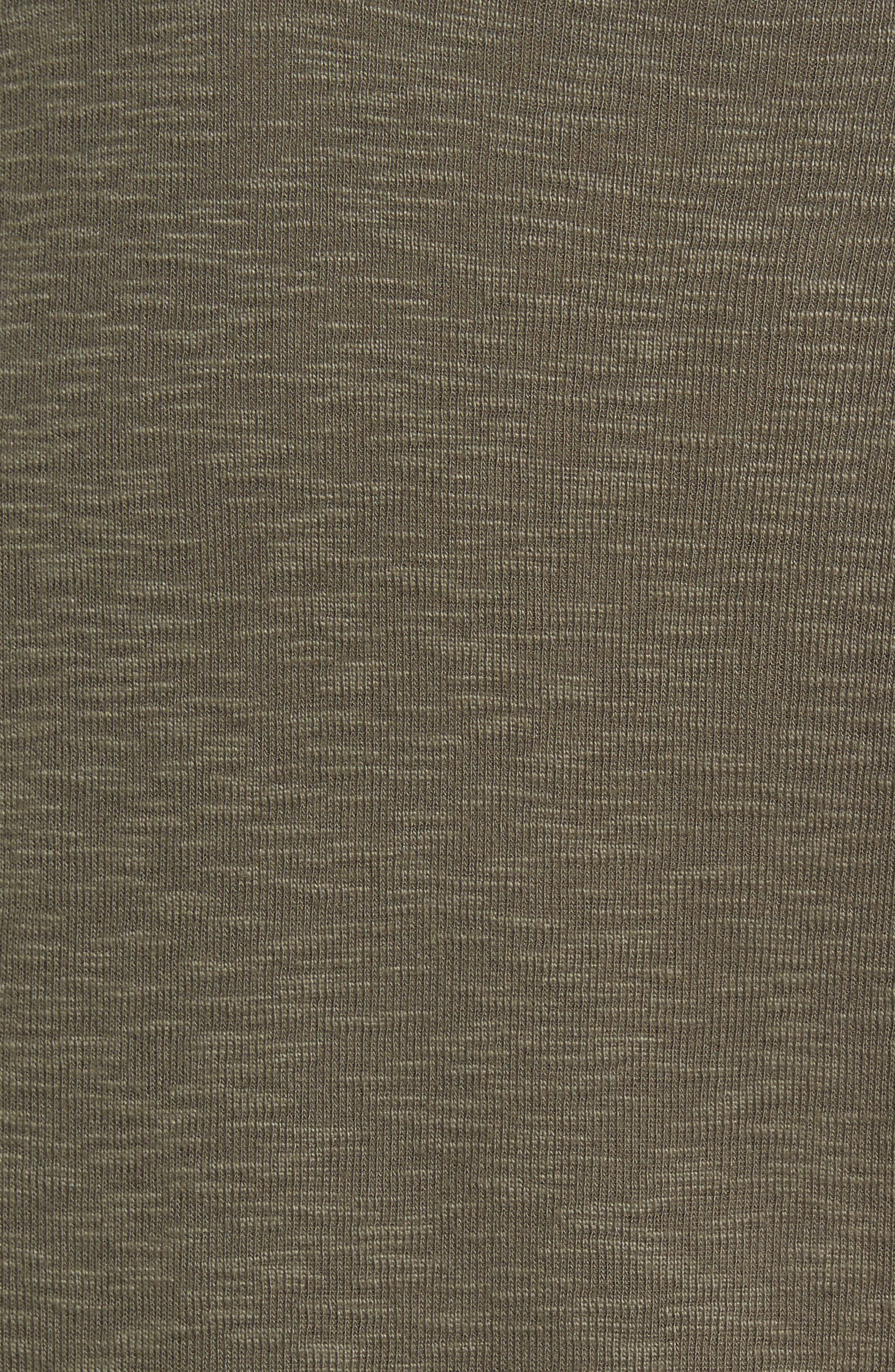 Alternate Image 5  - Treasure & Bond Short Sleeve Slub Henley