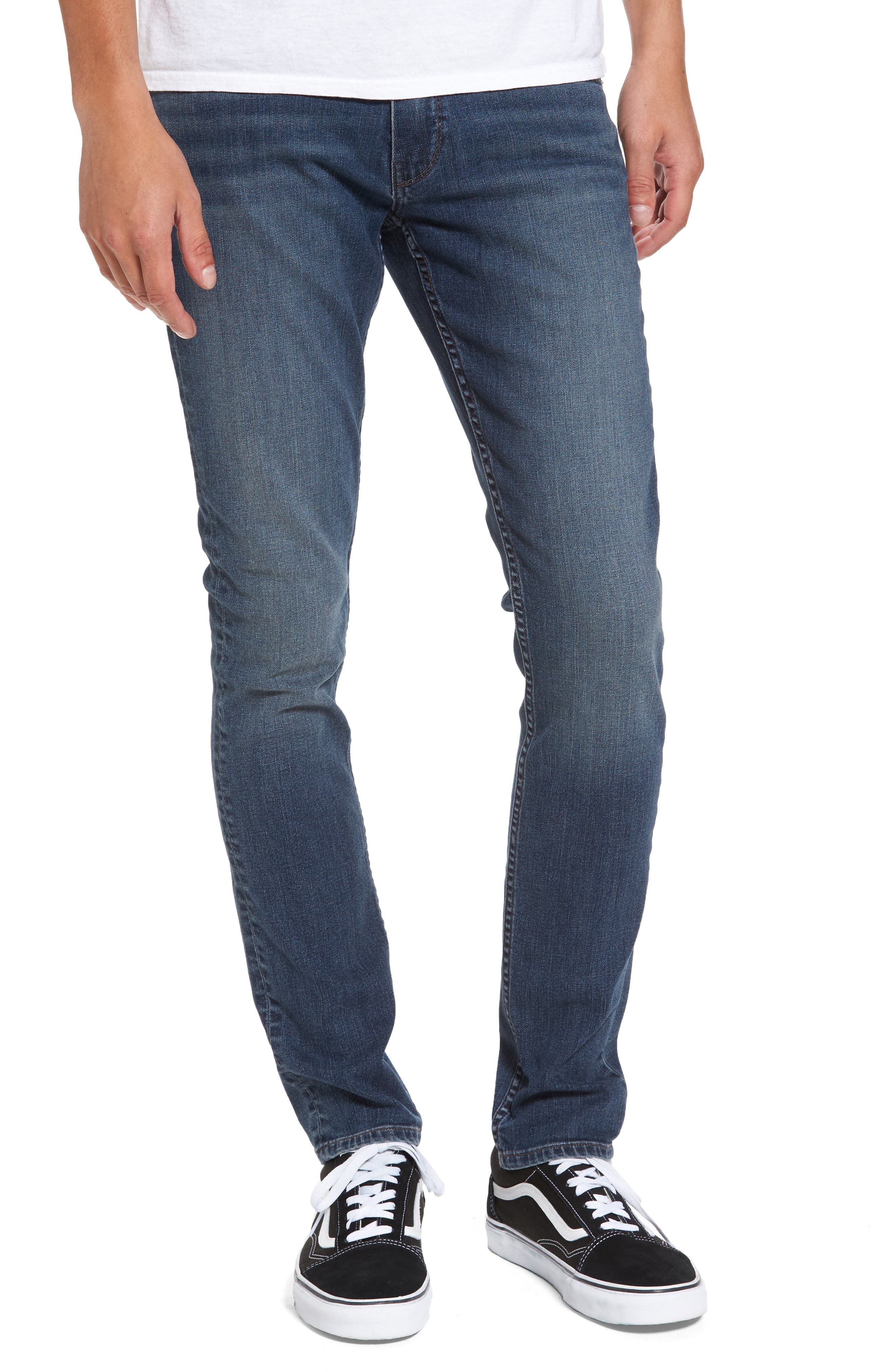 Main Image - PAIGE Legacy - Croft Skinny Jeans (Ewan)