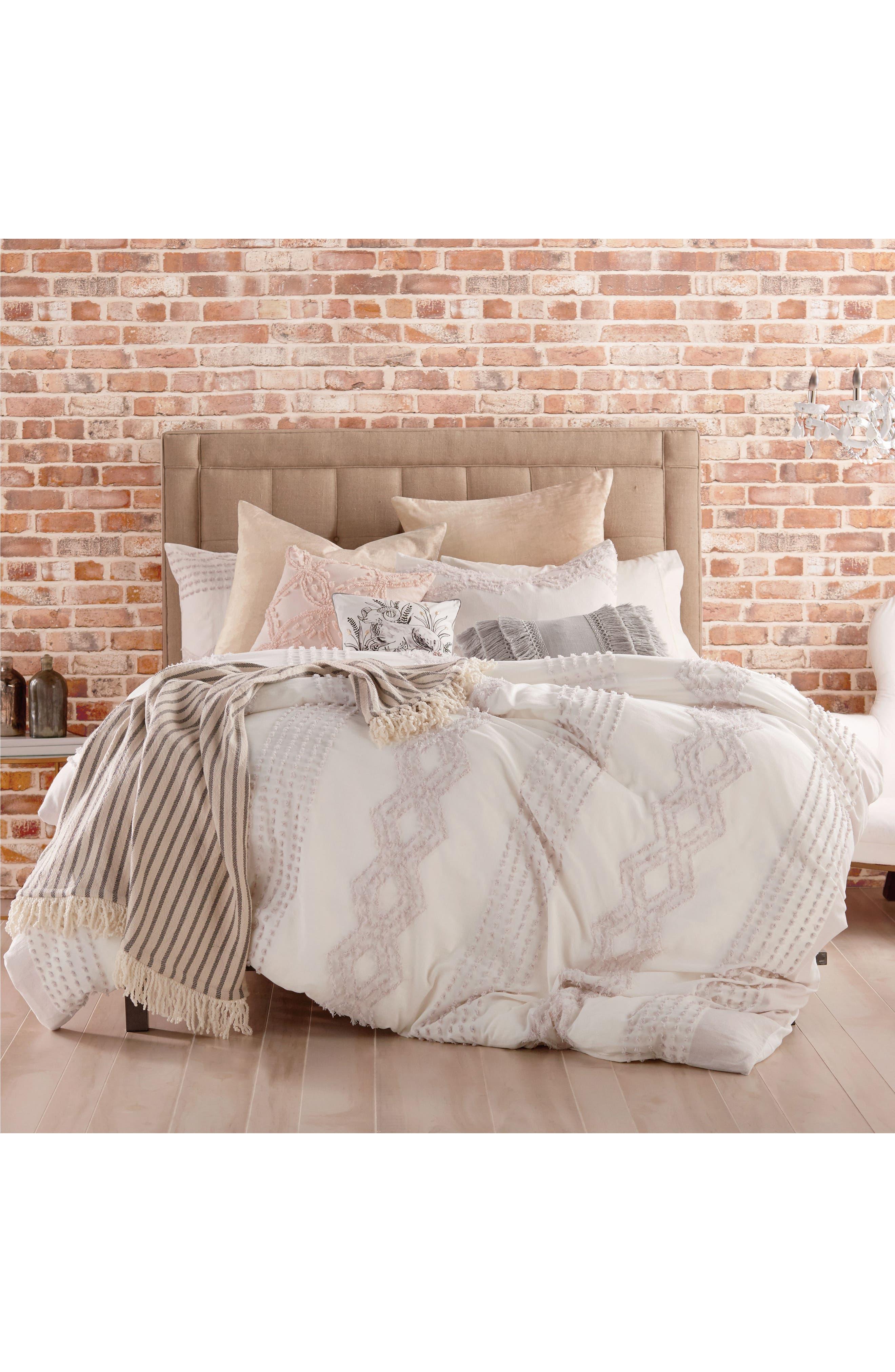 Main Image - Peri Home Cut Geo Chenille Comforter & Sham Set