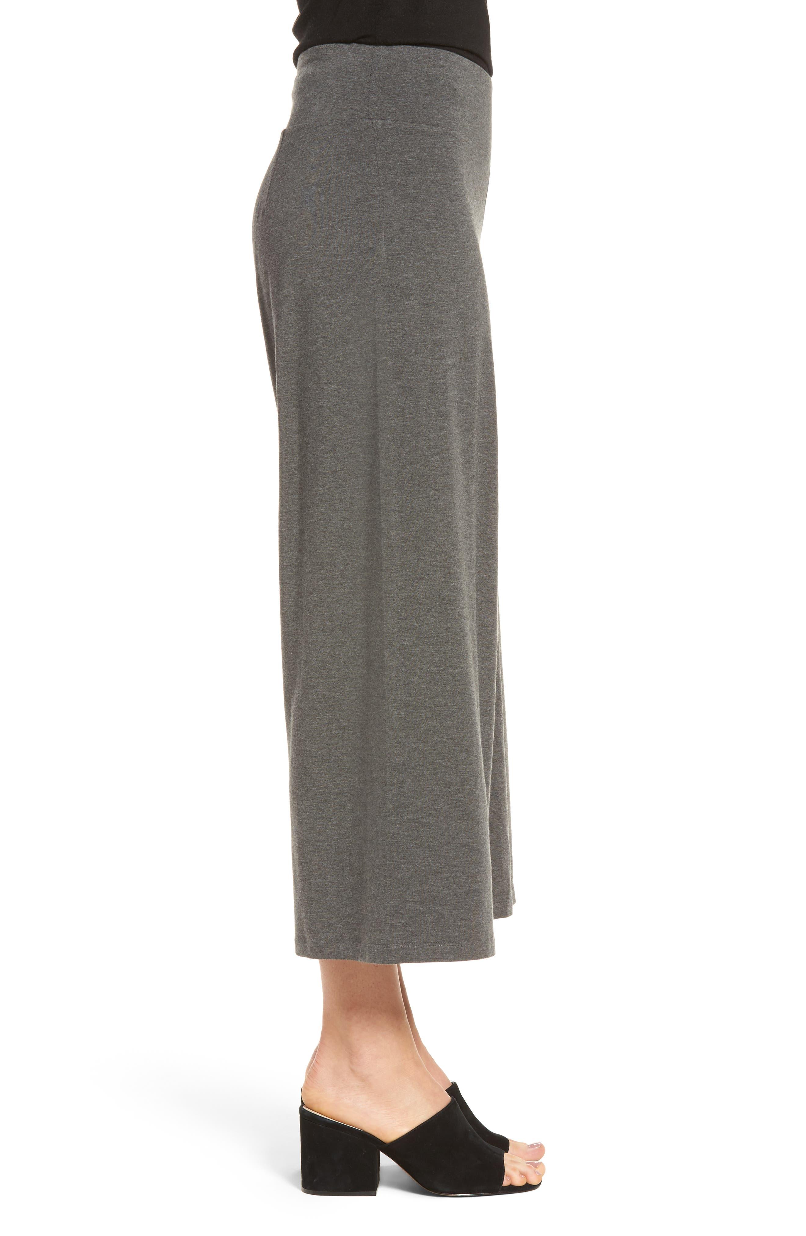 Alternate Image 3  - Eileen Fisher Wide Leg Crop Pants
