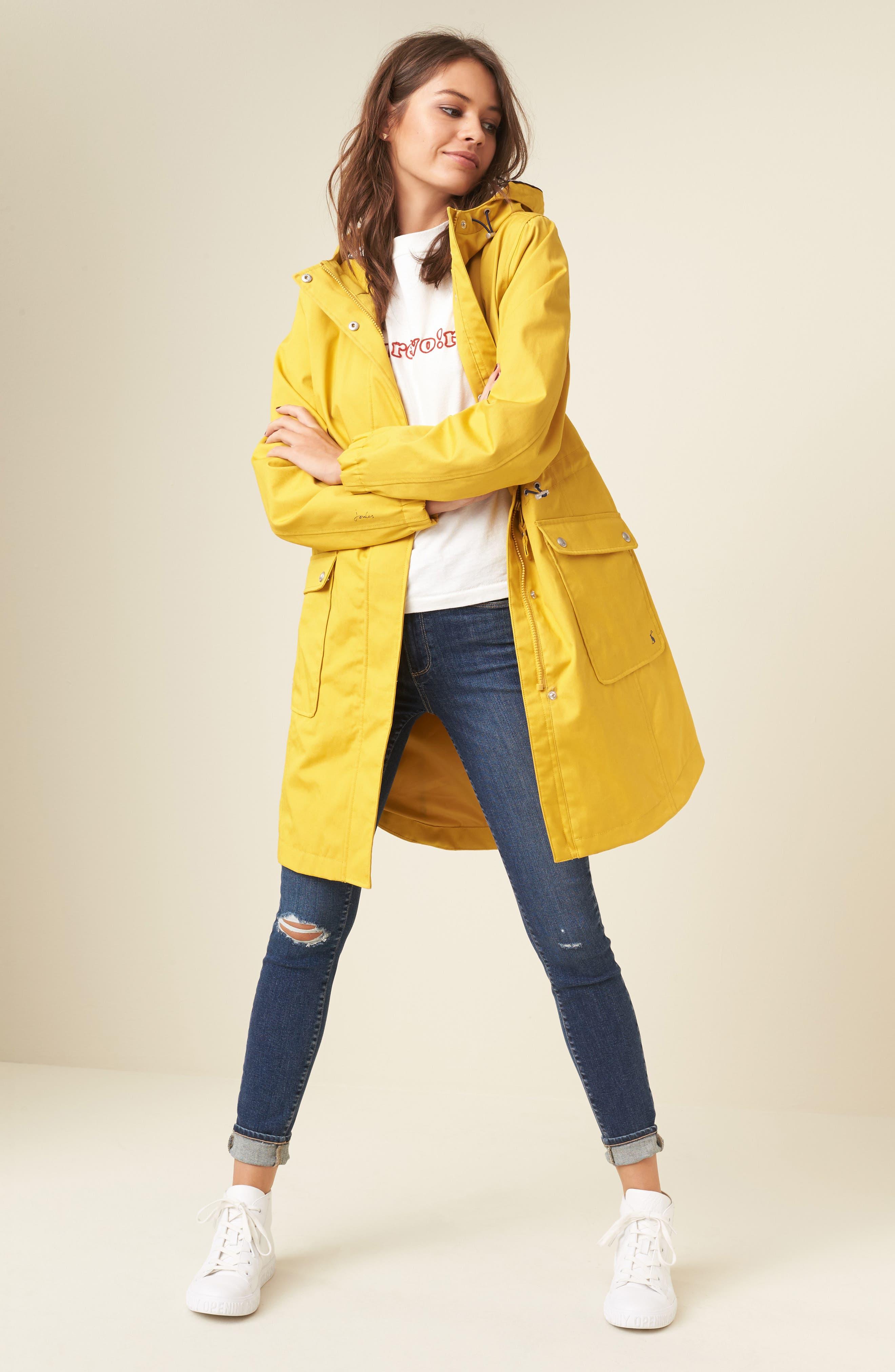 Alternate Image 2  - Joules Right as Rain Waterproof Hooded Jacket