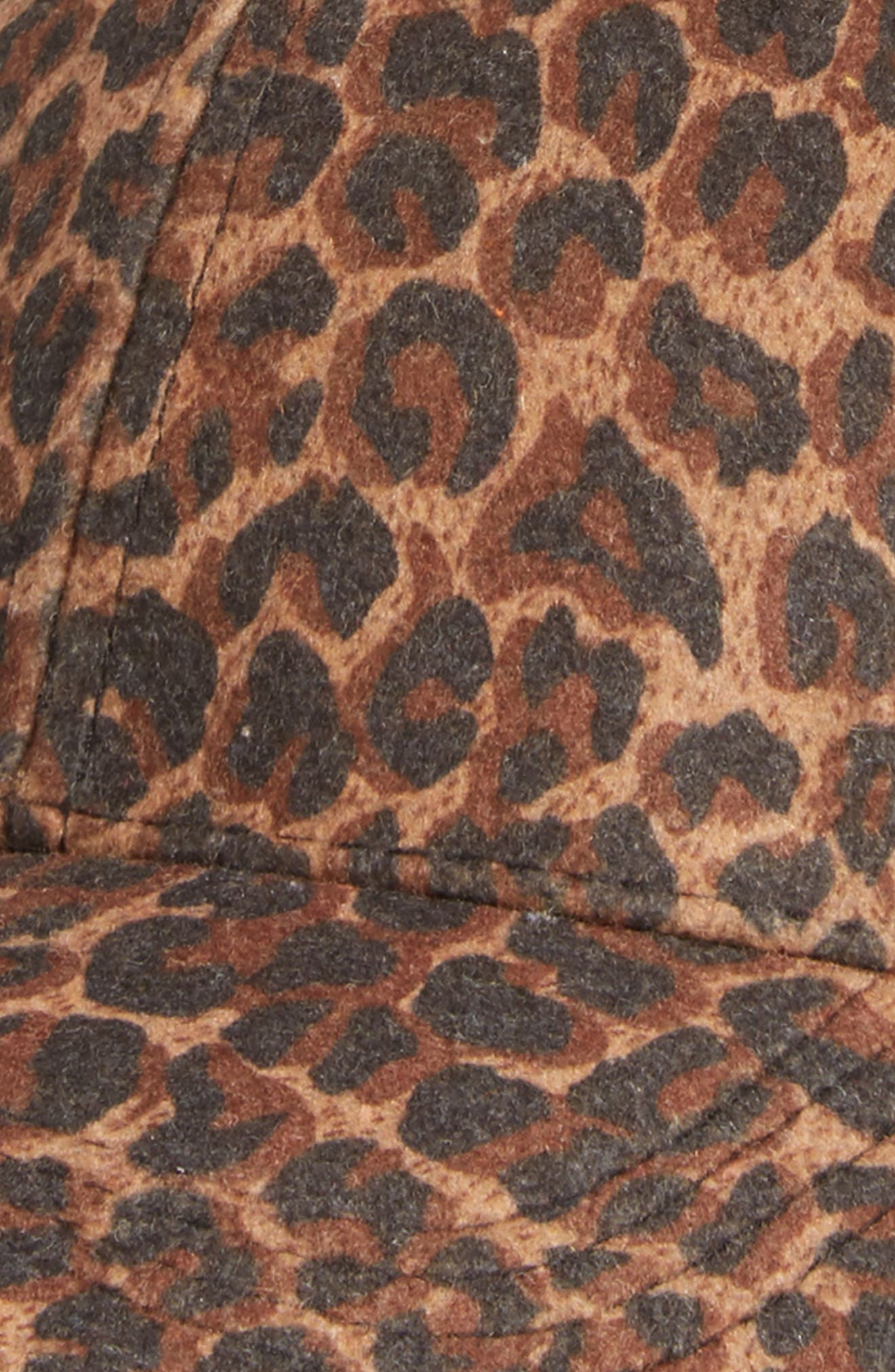 Alternate Image 3  - David & Young Leopard Print Ball Cap