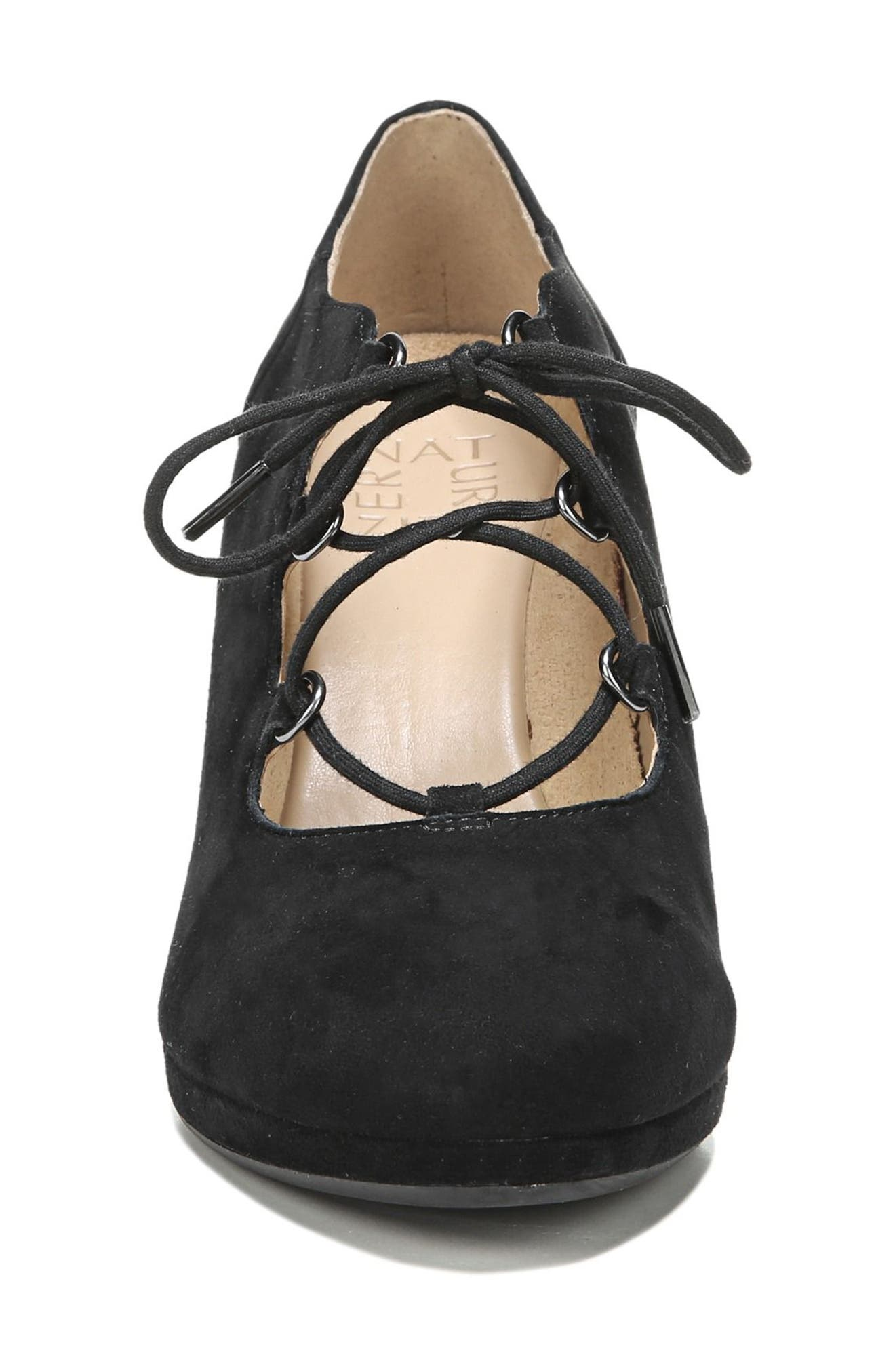 Alternate Image 4  - Naturalizer Macie Lace-Up Pump (Women)