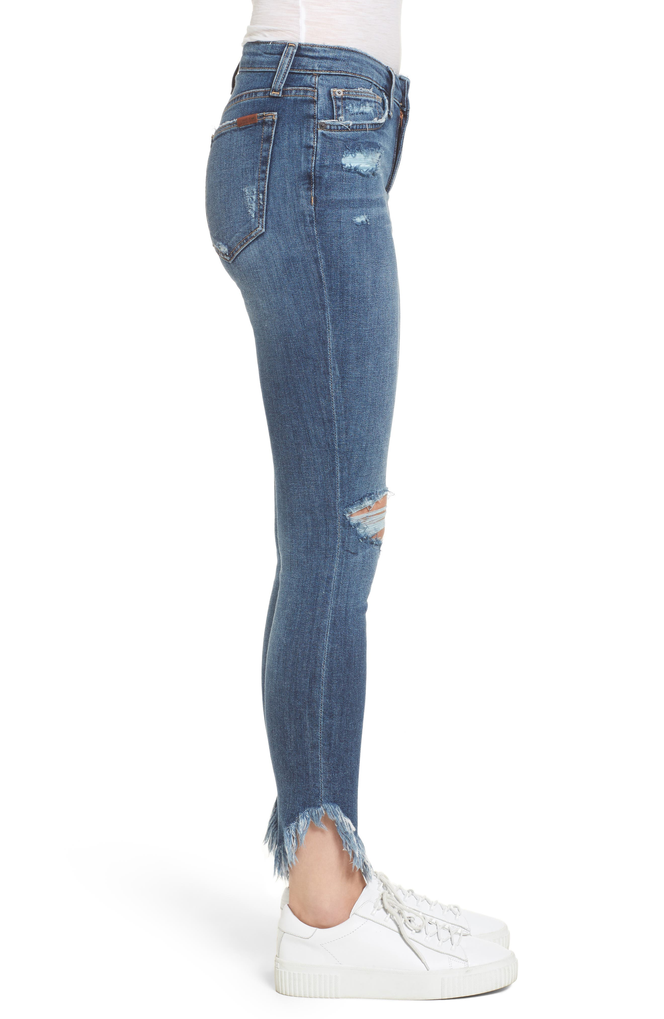 Icon Ankle Skinny Jeans,                             Alternate thumbnail 3, color,                             Aydin