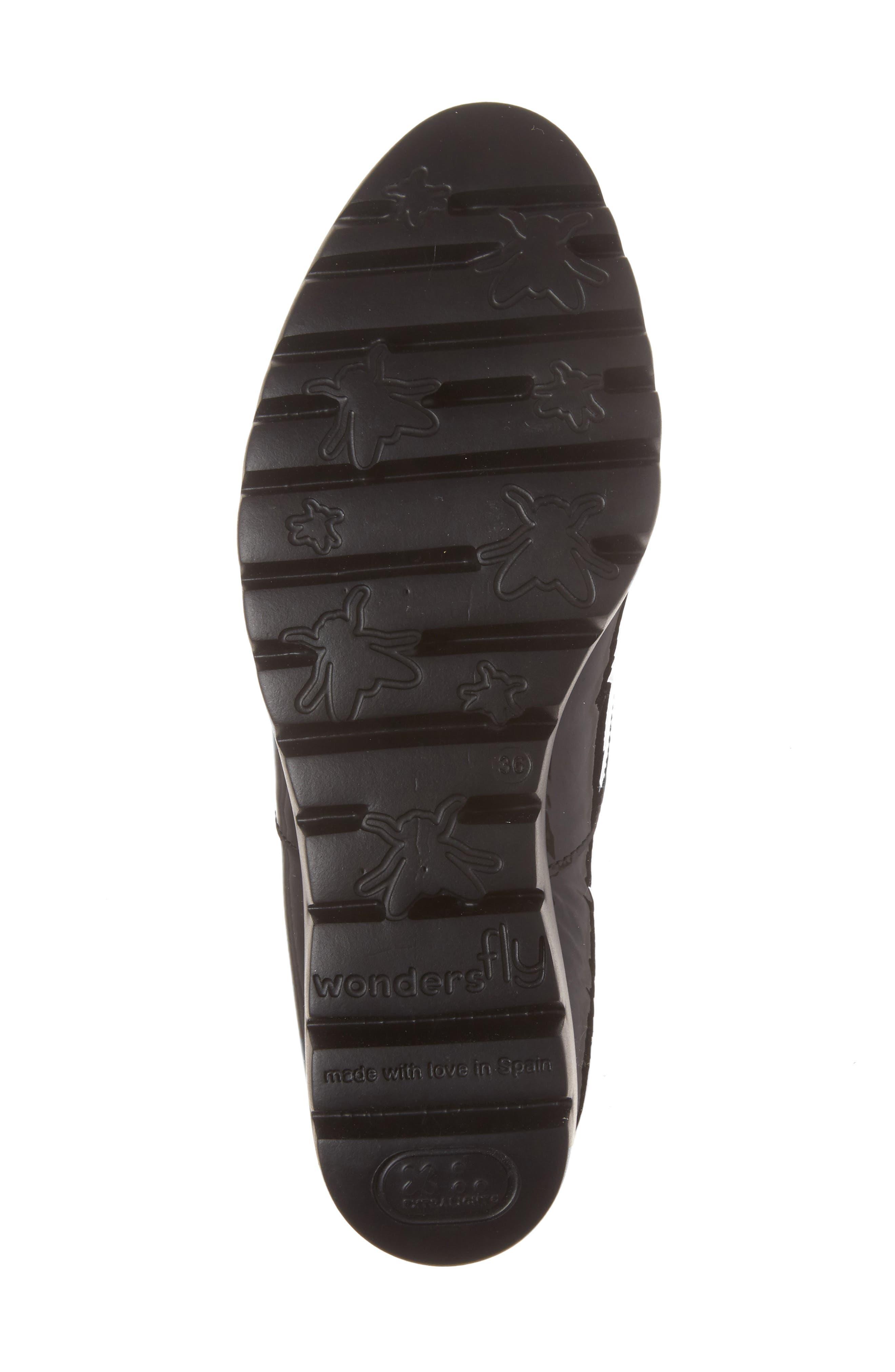 Platform Derby,                             Alternate thumbnail 6, color,                             Black Patent Leather