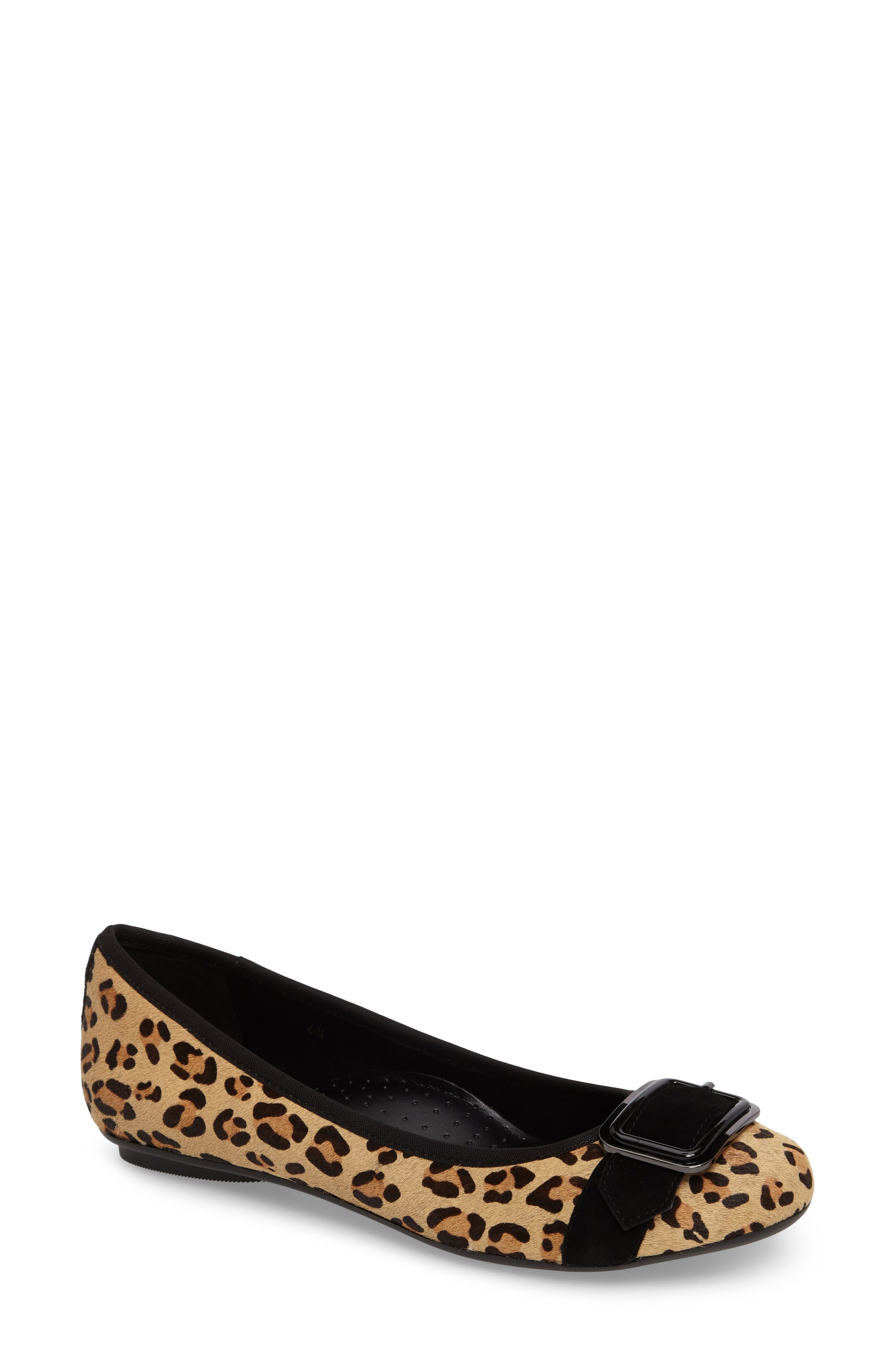 Alternate Image 1 Selected - VANELi Solana Buckle Flat (Women)