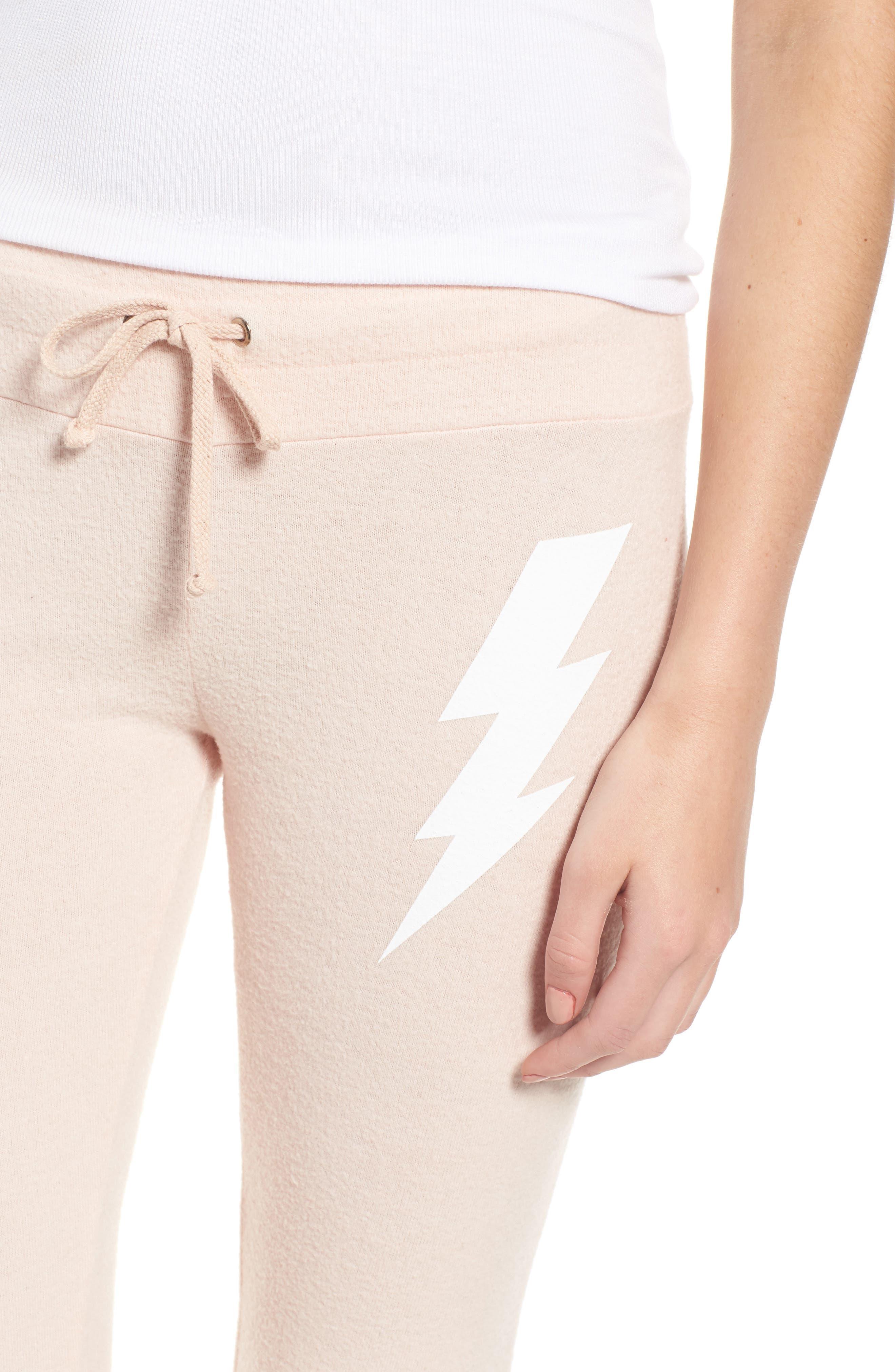Alternate Image 5  - Dream Scene Girl Power Skinny Pants