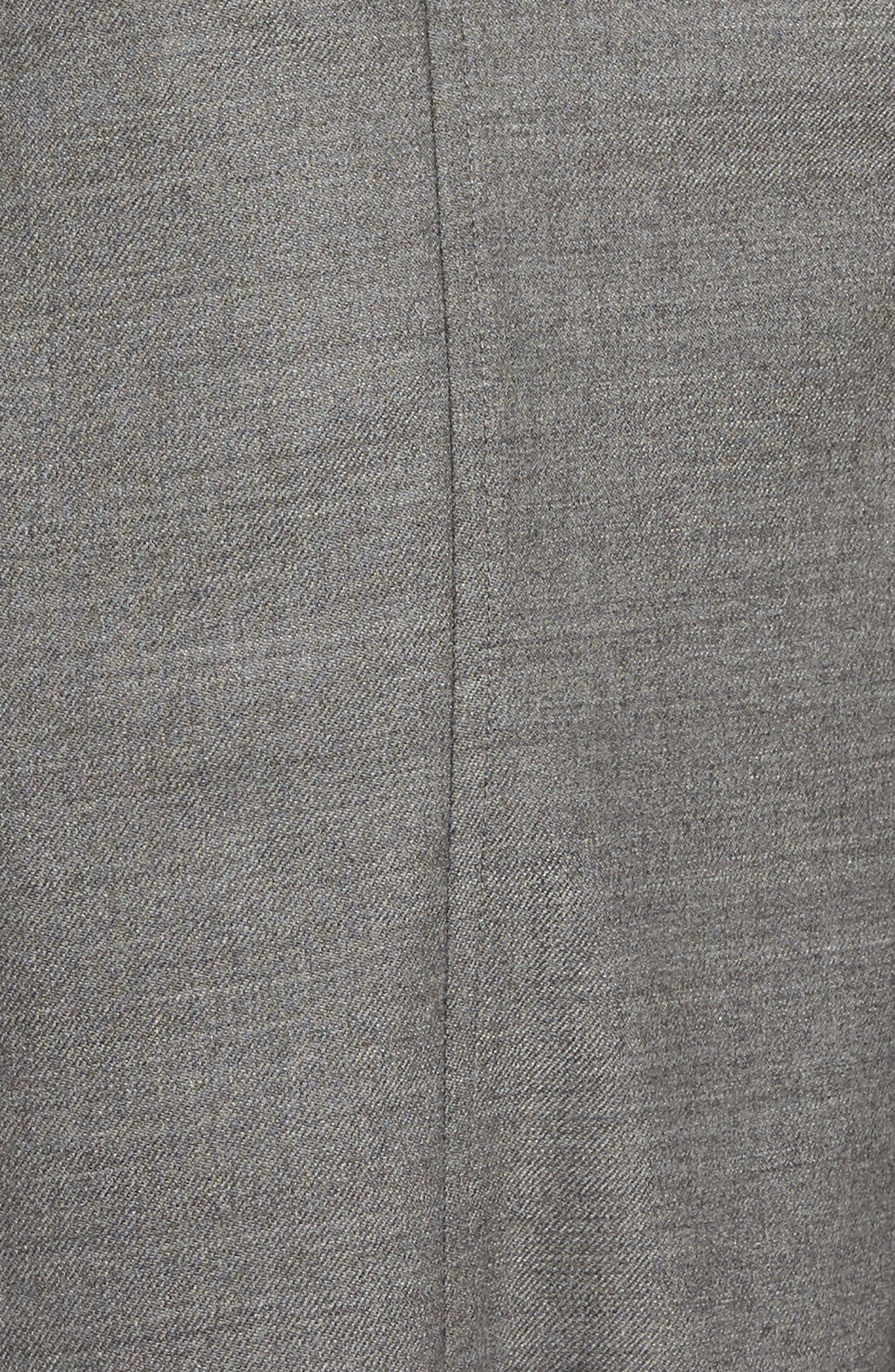Alternate Image 5  - Eileen Fisher Crop Stretch Wool Ankle Pants