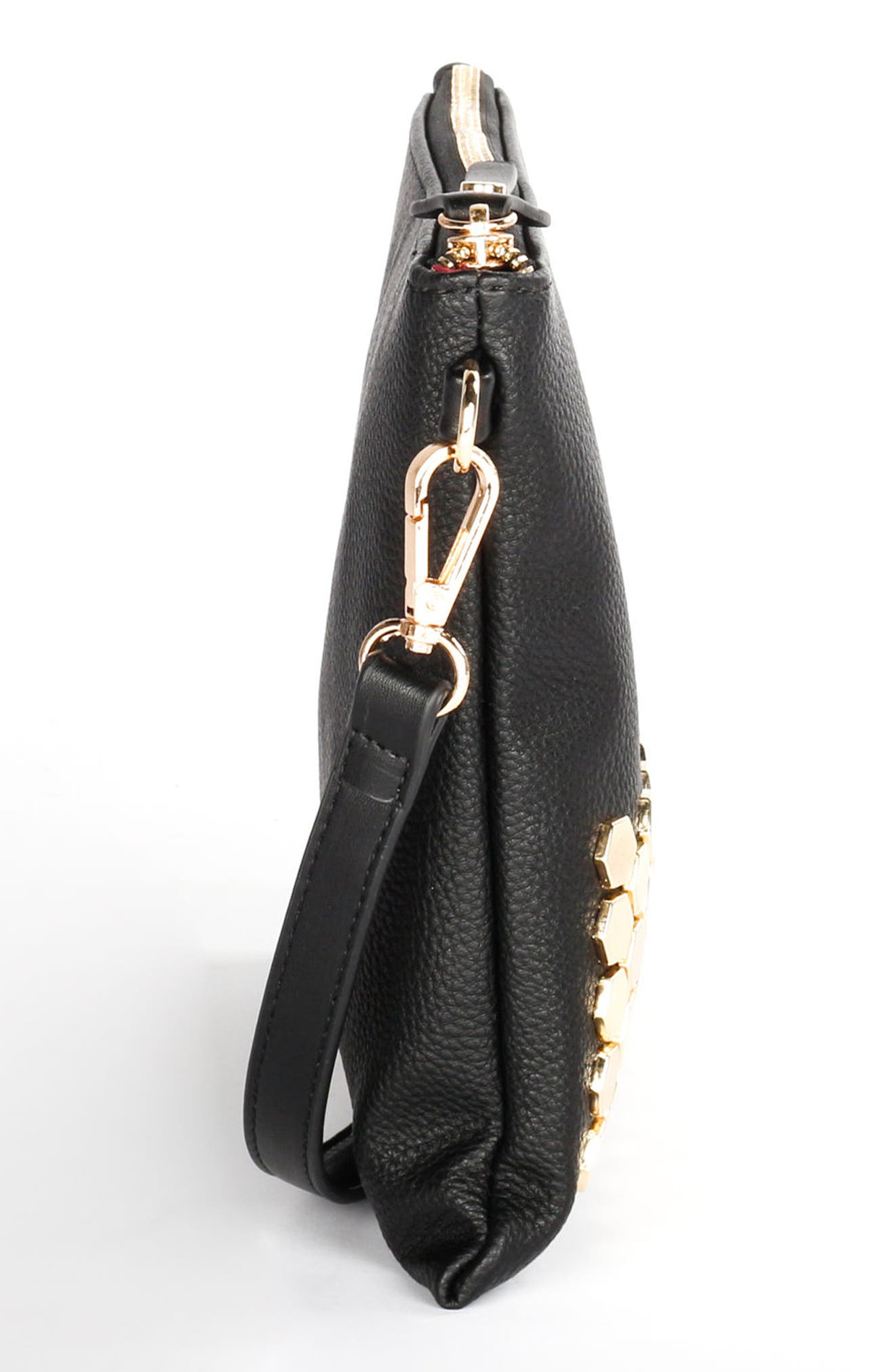 Alternate Image 4  - Céline Dion Symphony Faux Leather Clutch