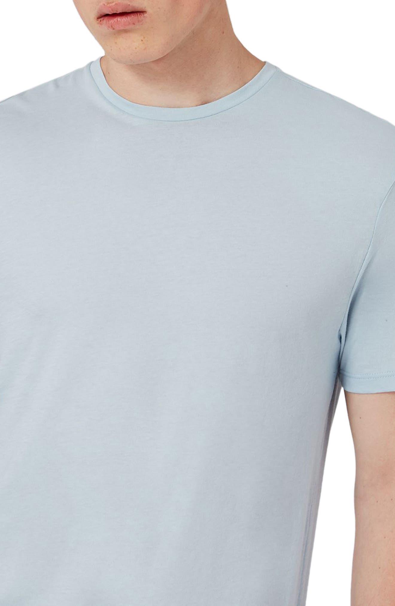 Alternate Image 3  - Topman Lightweight Cotton T-Shirt