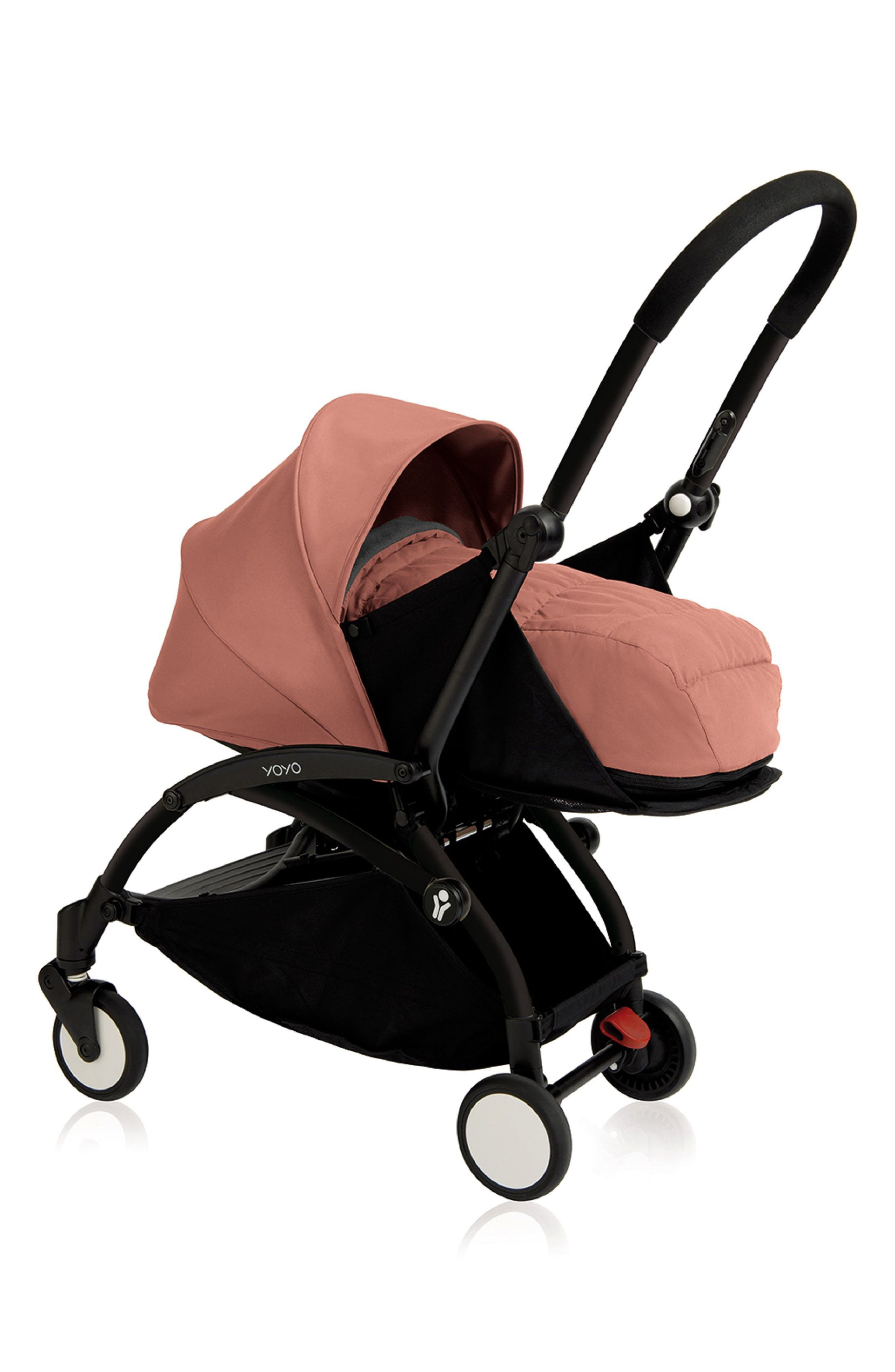 BABYZEN YOYO+ Complete Stroller with Newborn Color Pack Fabric Set,                             Main thumbnail 1, color,                             Ginger