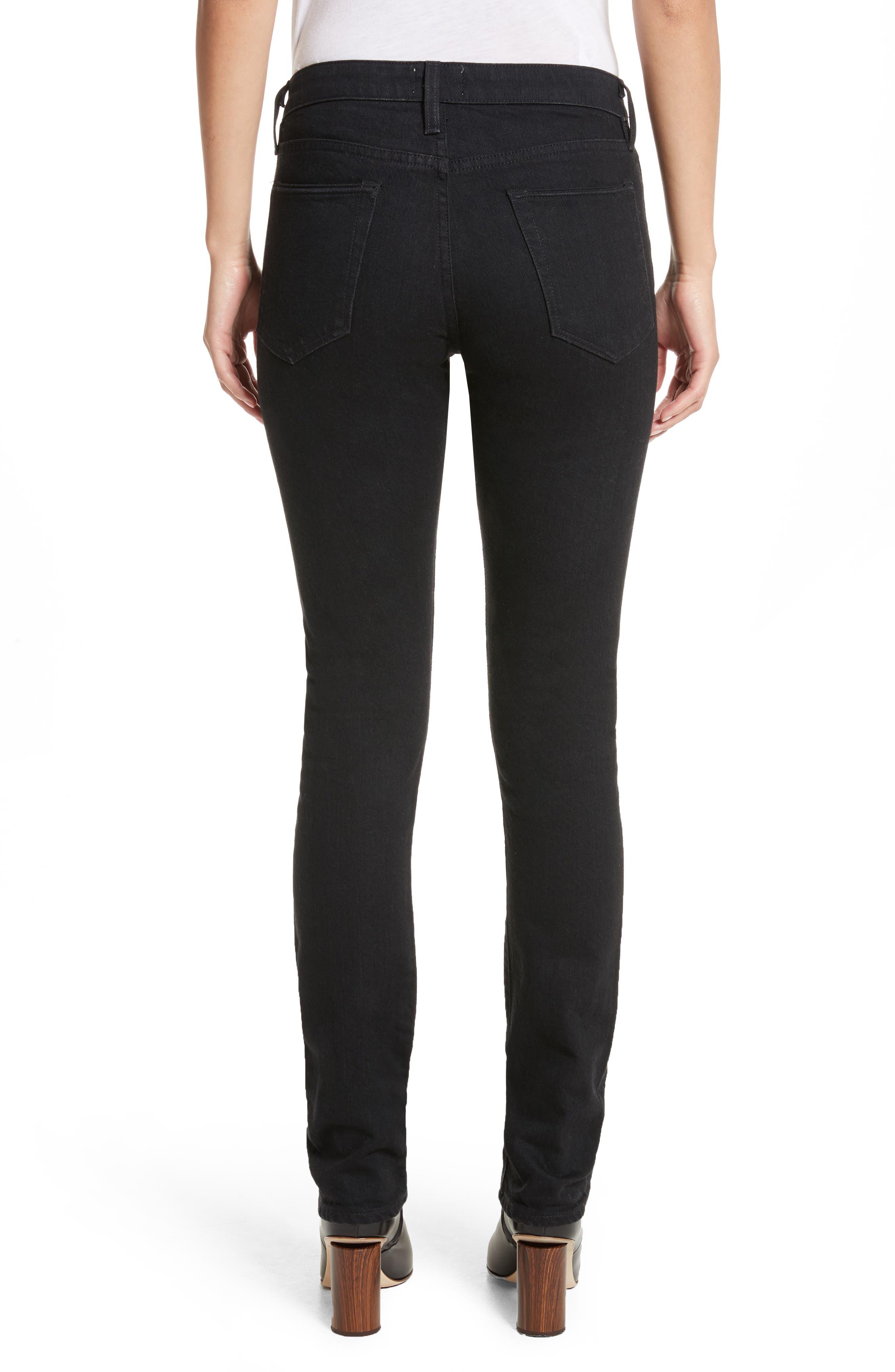 Boyd High Rise Jeans,                             Alternate thumbnail 2, color,                             Black