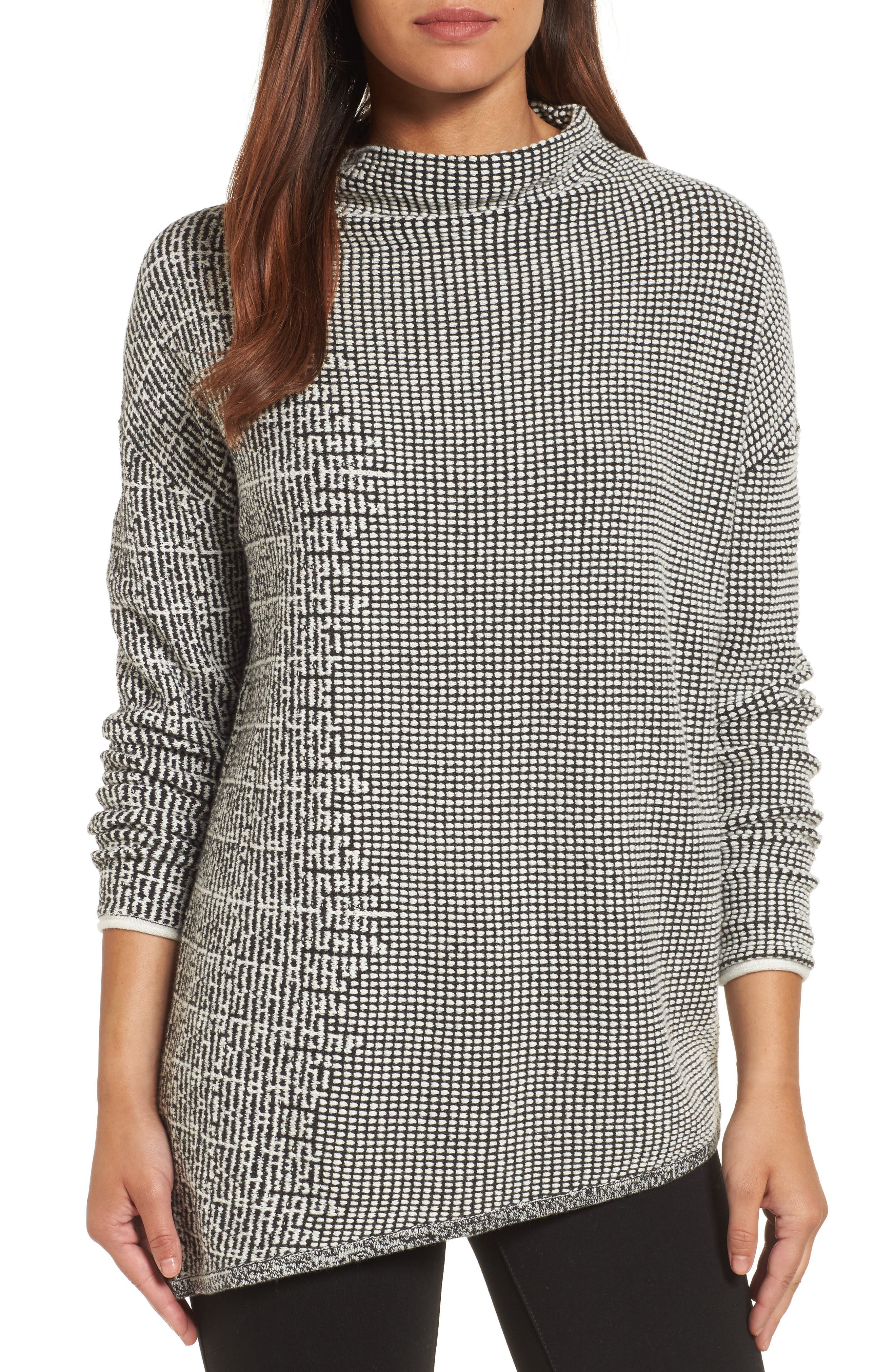 Alternate Image 1 Selected - NIC+ZOE Frosted Fall Sweater (Regular & Petite)