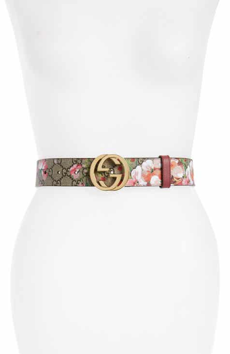 a06d7bef6b8 Gucci Rose Leather Belt