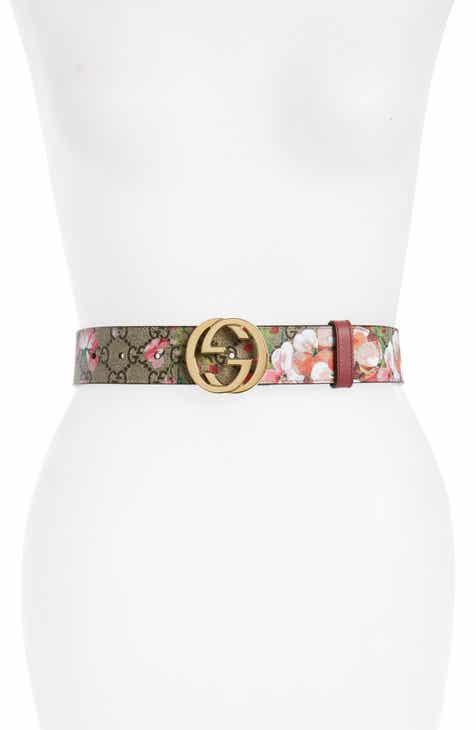 4a95905ed86 Gucci Rose Leather Belt