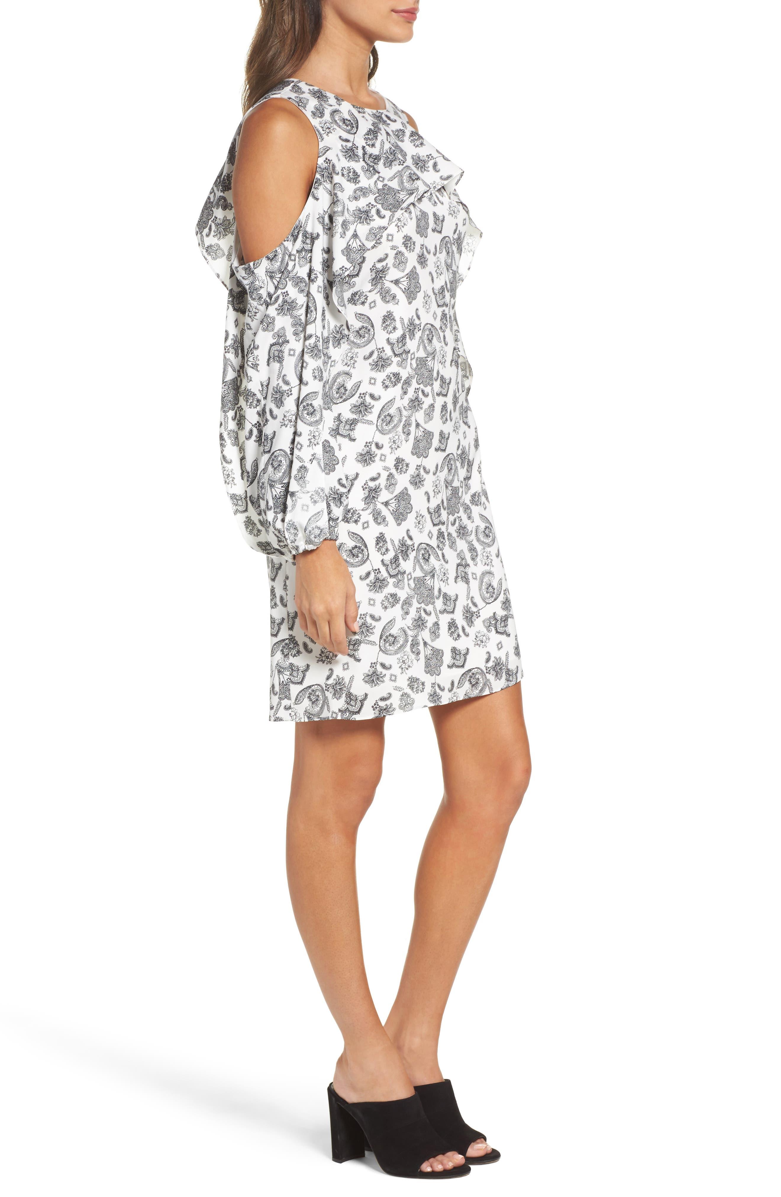 Alternate Image 3  - Kobi Halperin Amber Cold Shoulder Shift Dress (Nordstrom Exclusive)