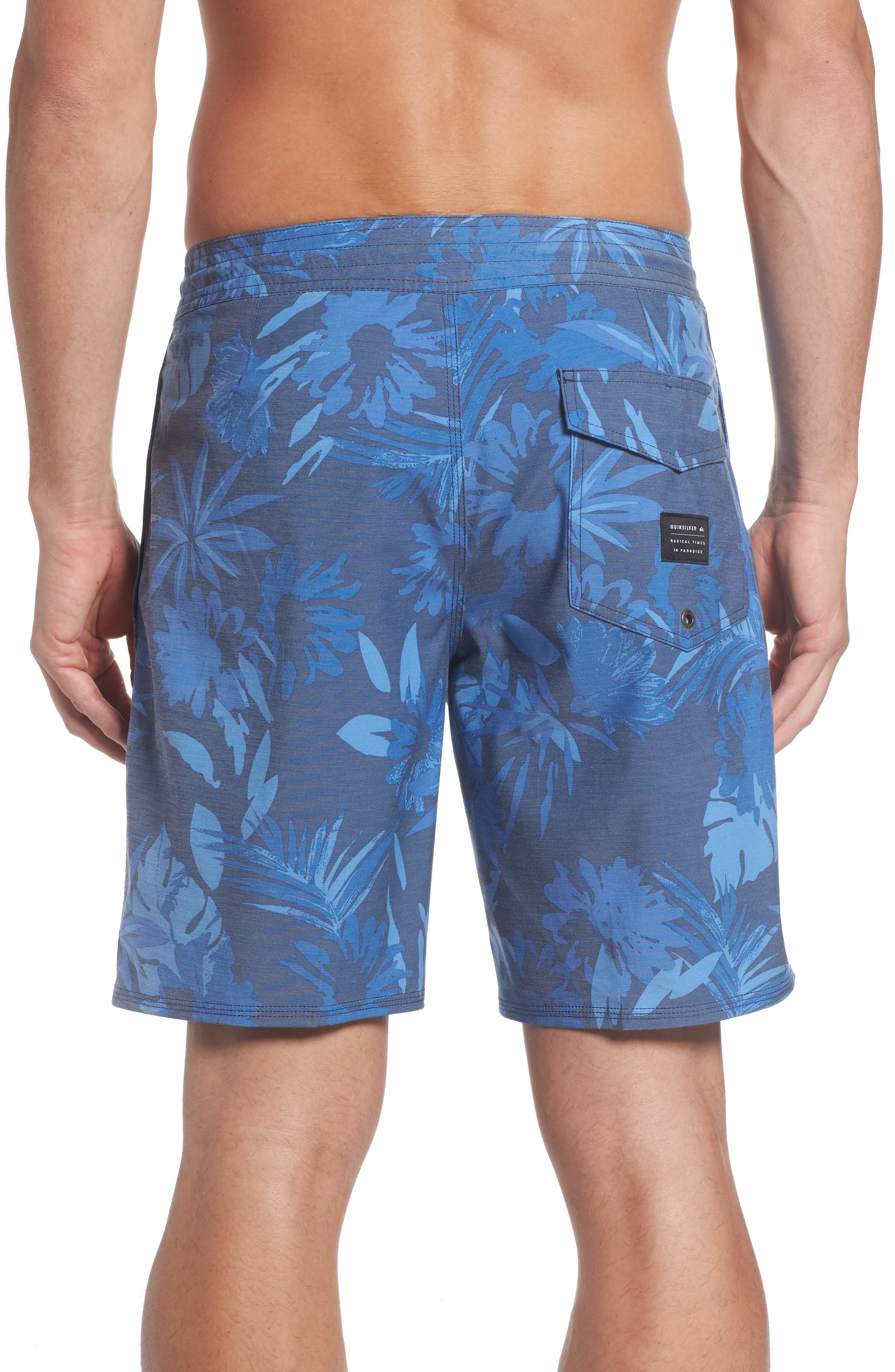 Alternate Image 2  - Quiksilver Desert Trip Board Shorts
