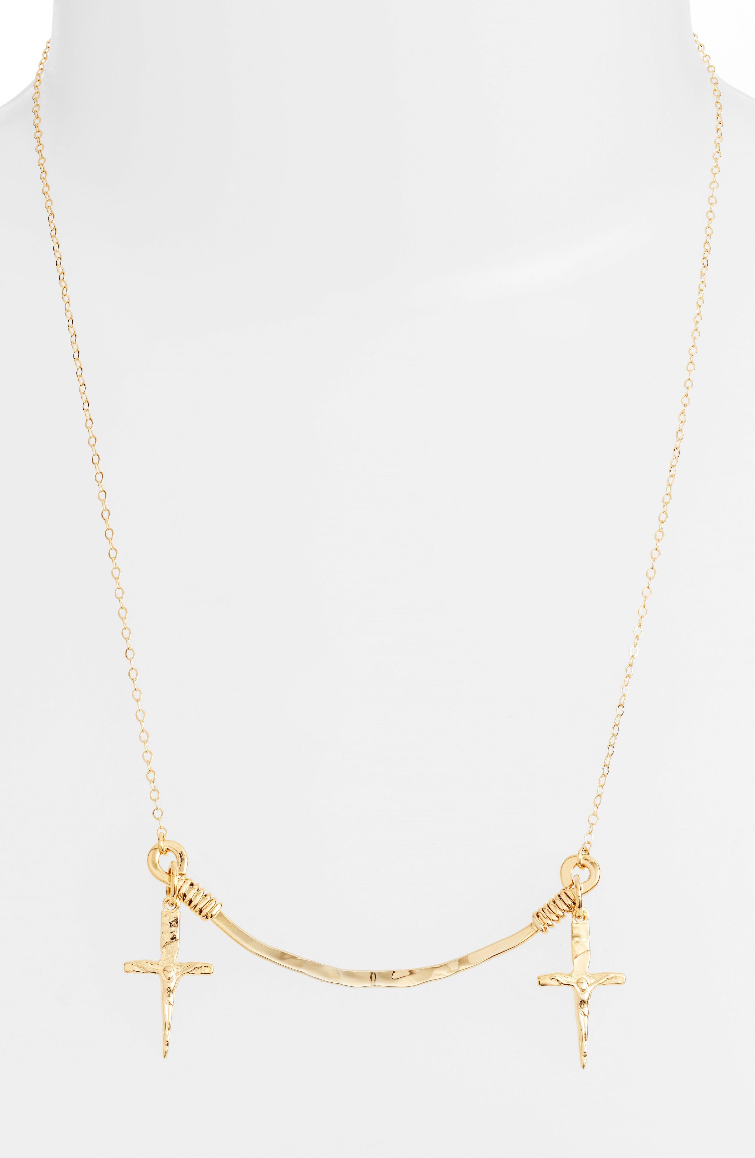 Alternate Image 2  - Britt Bolton Frontal Necklace
