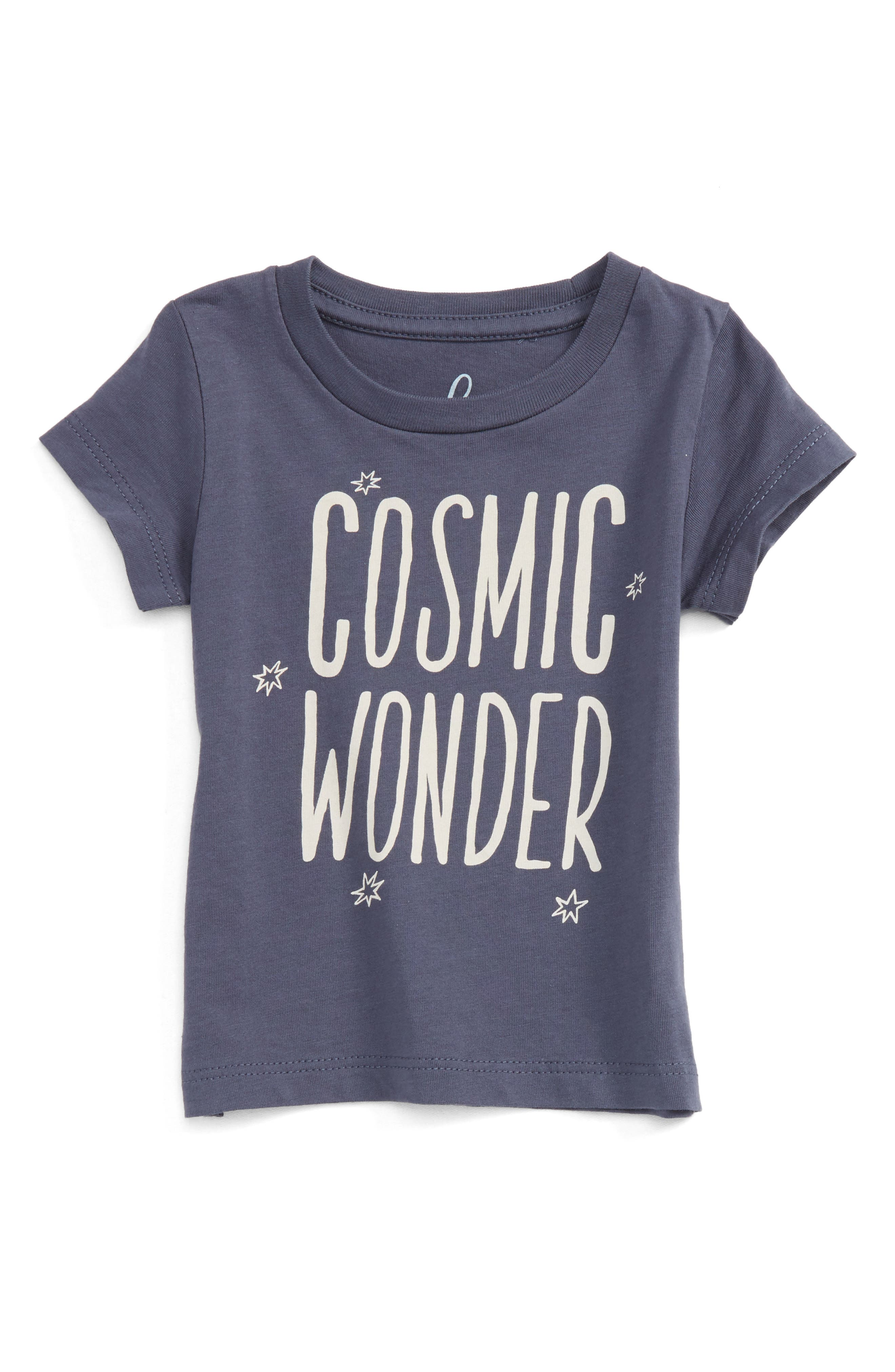Alternate Image 1 Selected - Peek Cosmic Wonder Graphic T-Shirt (Baby Boys)