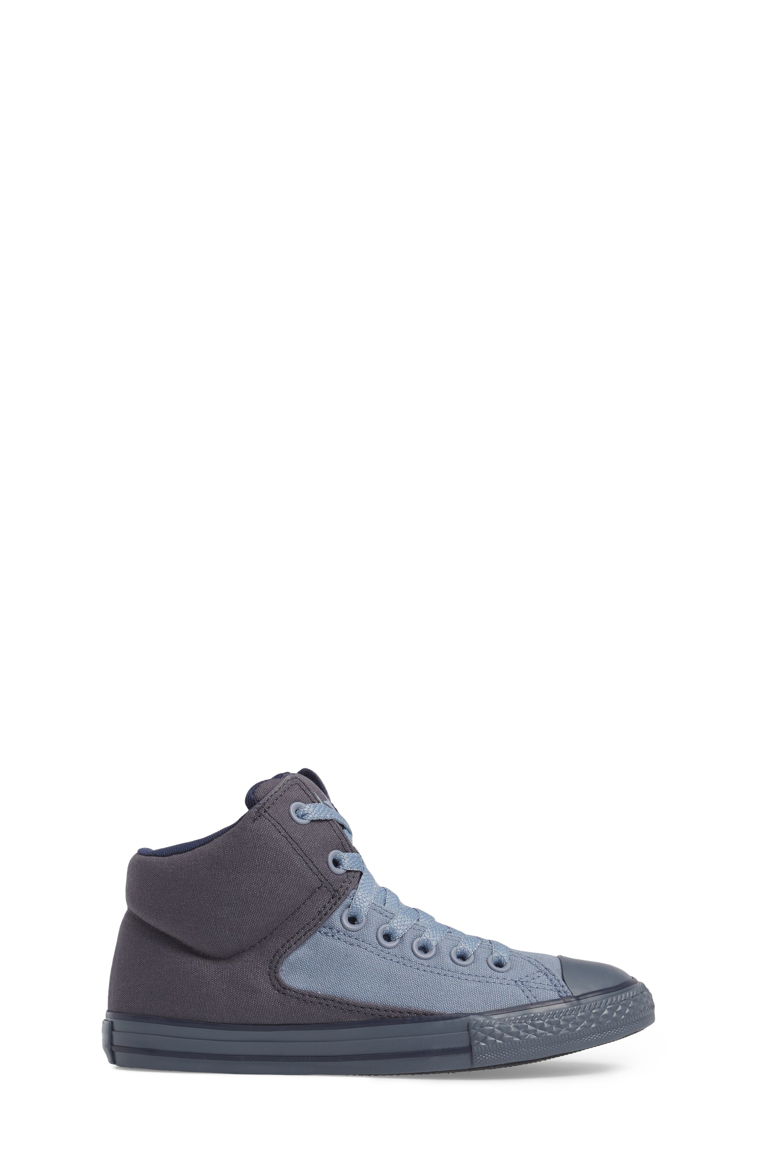 Chuck Taylor<sup>®</sup> All Star<sup>®</sup> High Street High Top Sneaker,                             Alternate thumbnail 3, color,                             Sharkskin Canvas