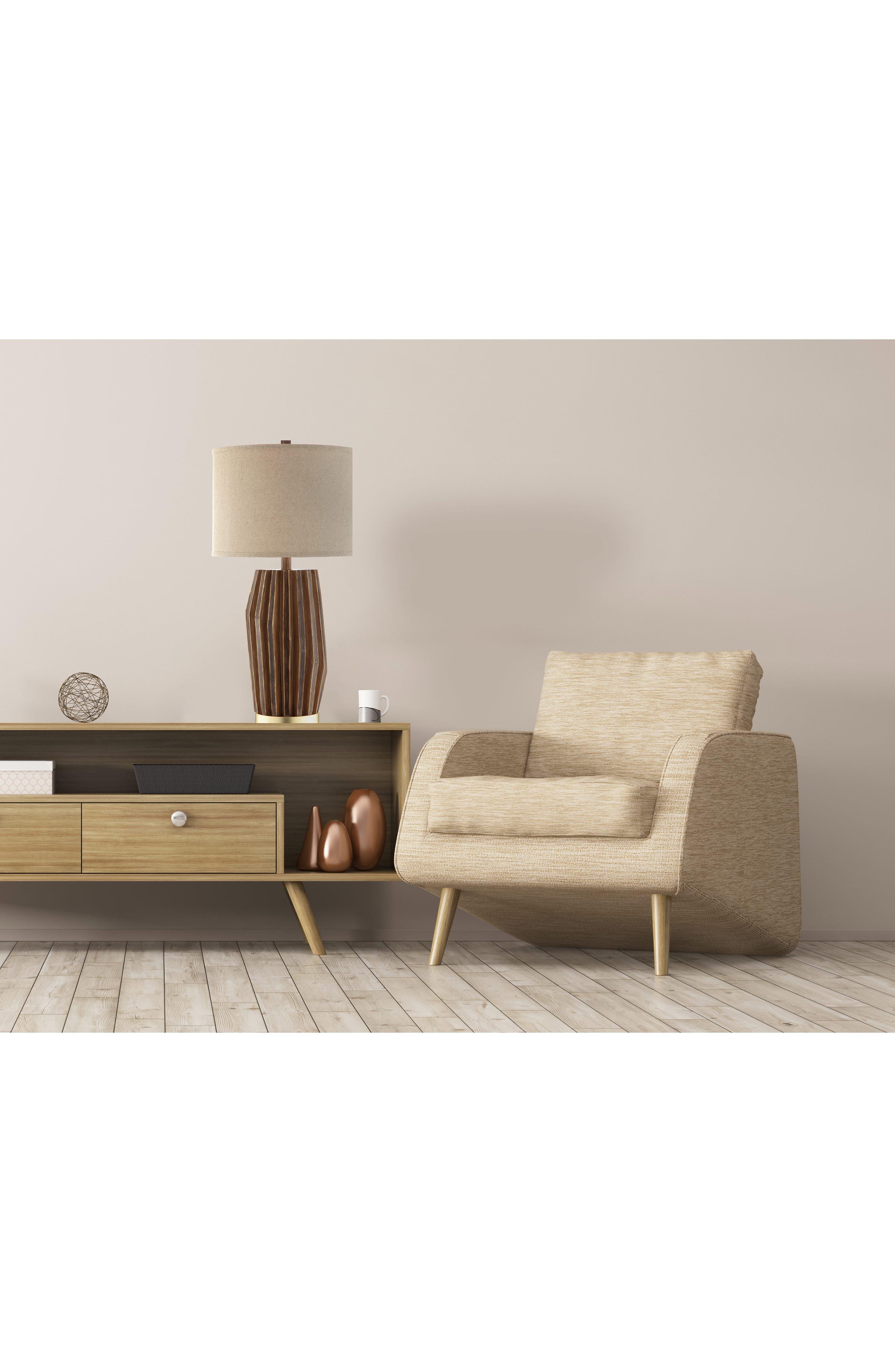 JAlexander Easton Table Lamp,                             Alternate thumbnail 2, color,                             Wood