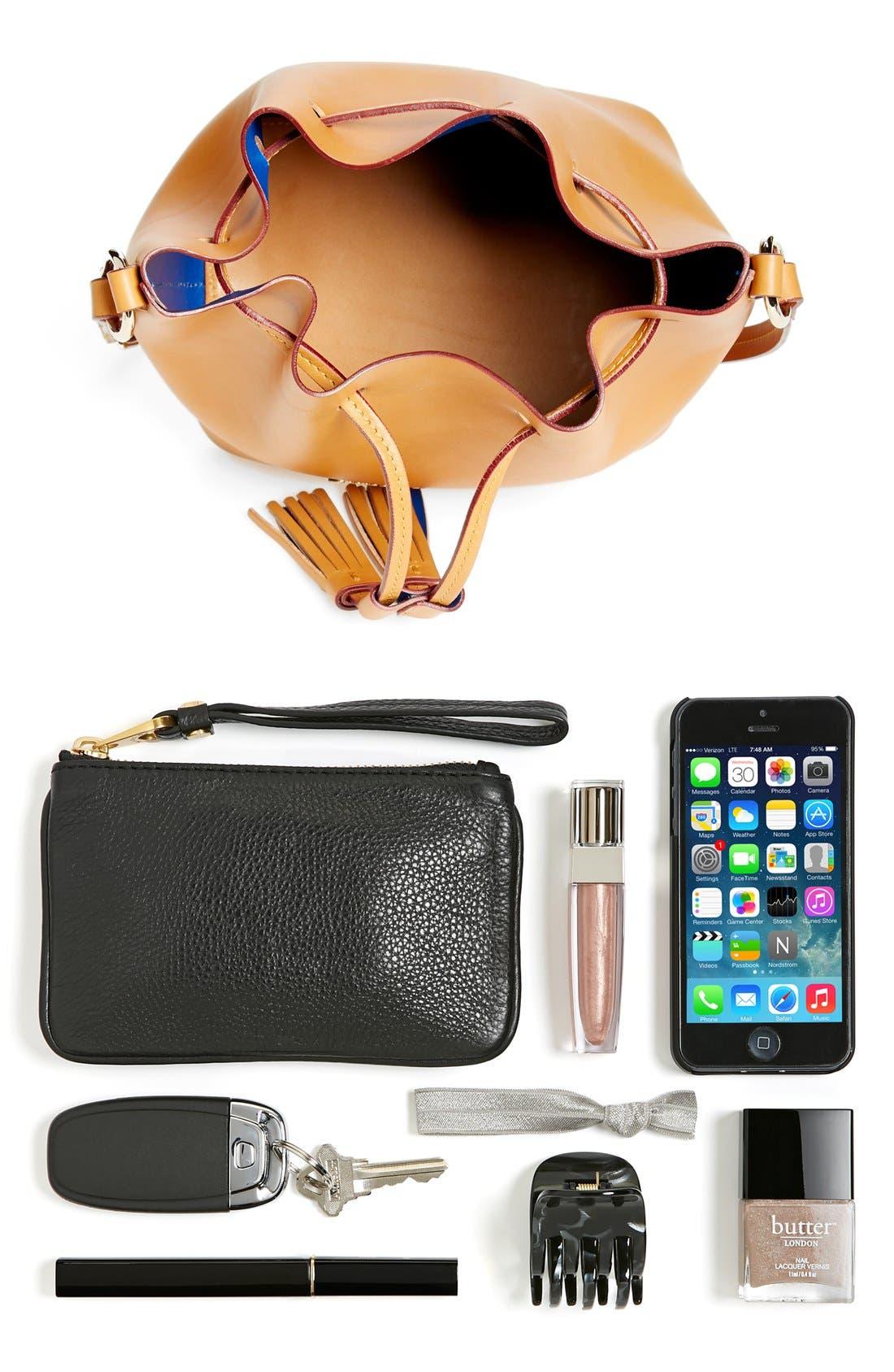 Alternate Image 7  - Dooney & Bourke 'Serena' Leather Bucket Bag