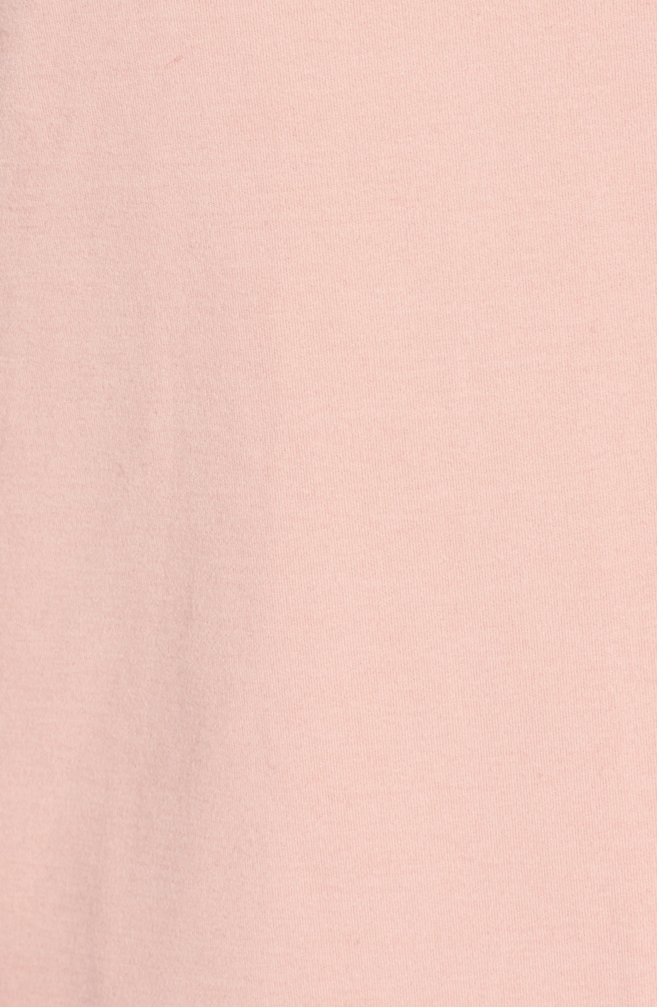 Cinch Cuff Pullover,                             Alternate thumbnail 5, color,                             Blush