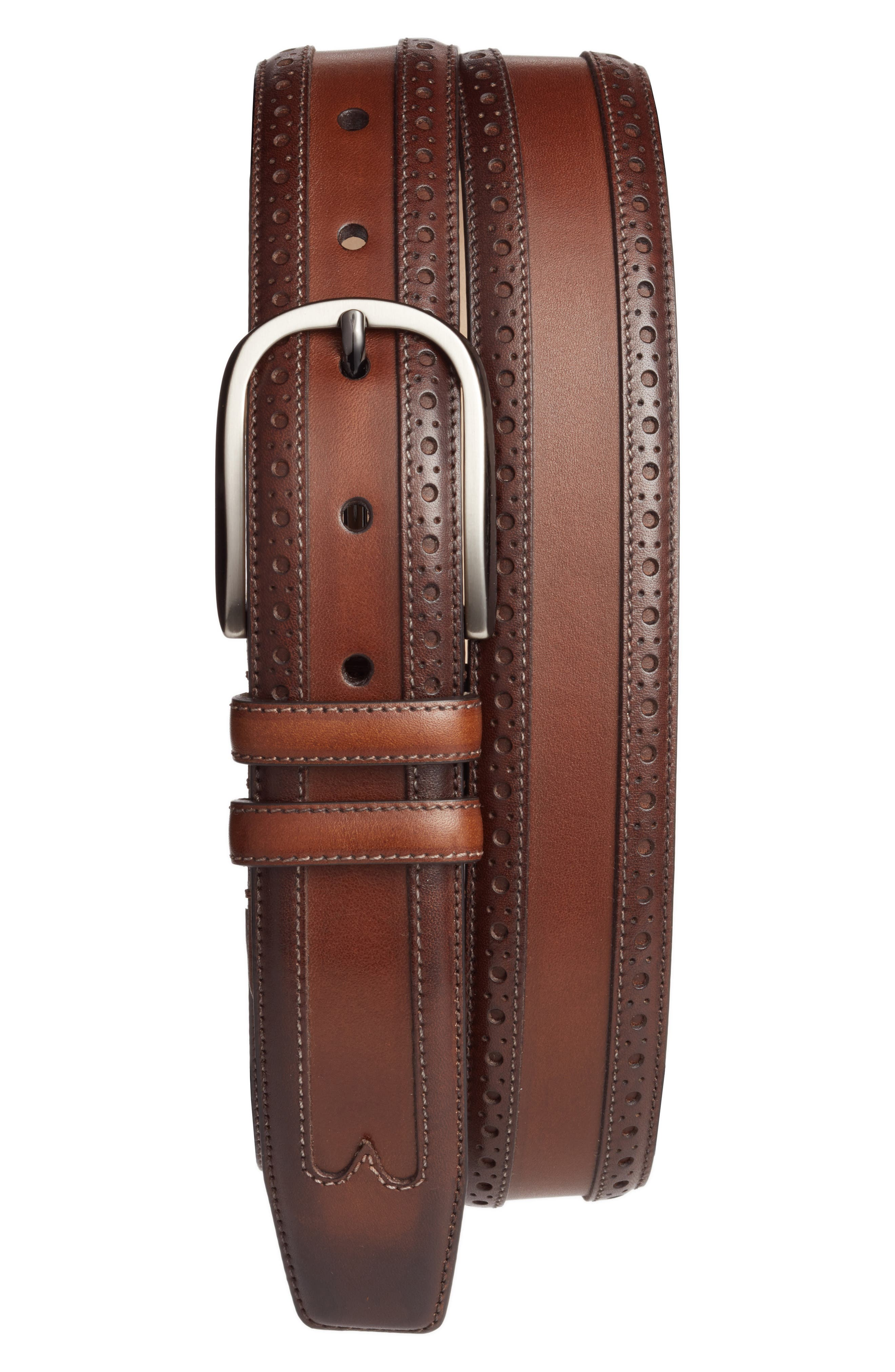 Alternate Image 1 Selected - Mezlan Leather Belt