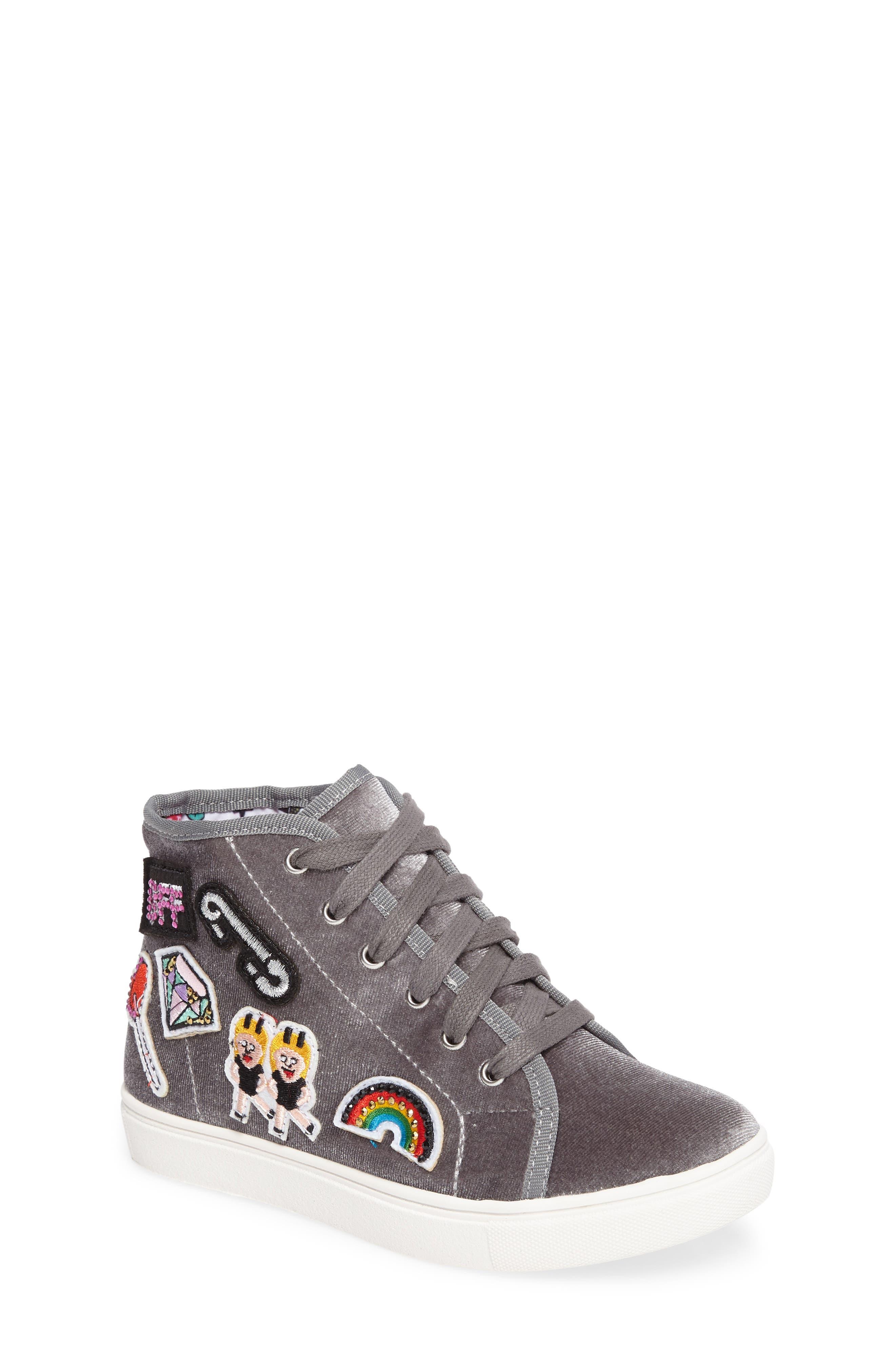 Steve Madden J-BFF High Top Sneaker (Little Kid & Big Kid)