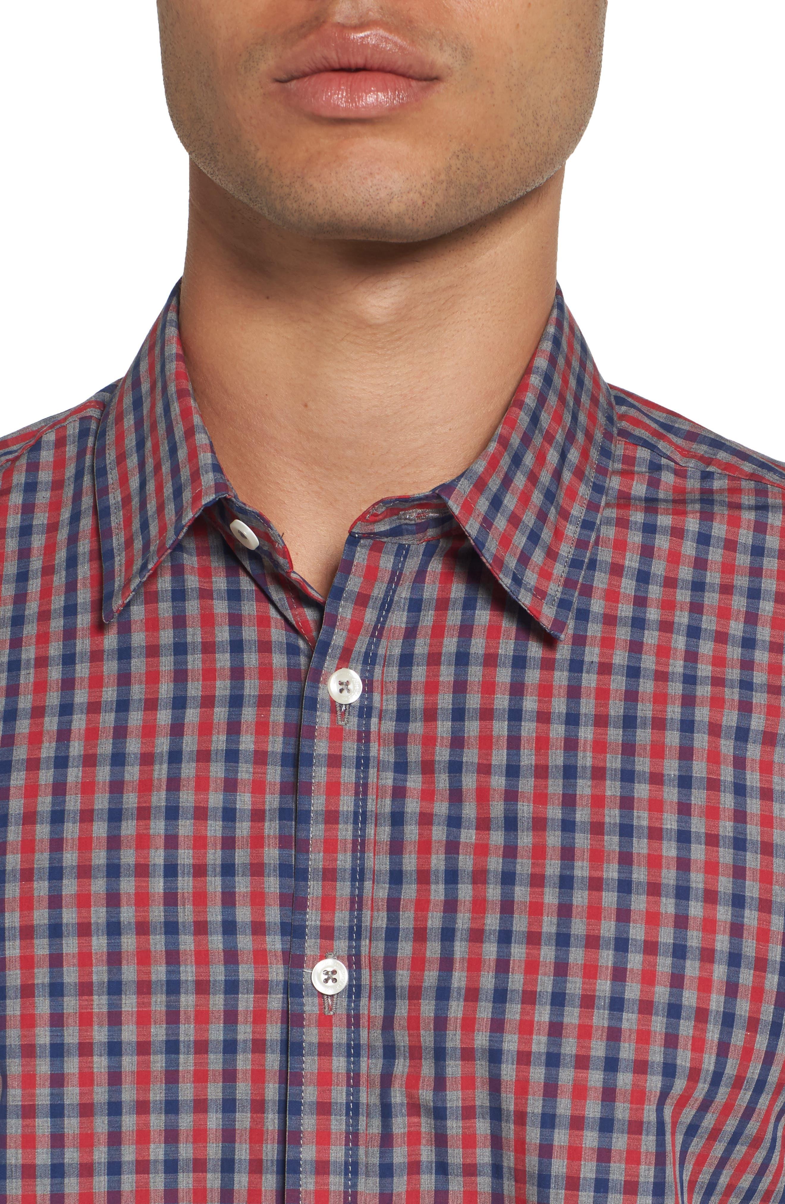 Alternate Image 4  - Jeremy Argyle Comfort Fit Check Sport Shirt