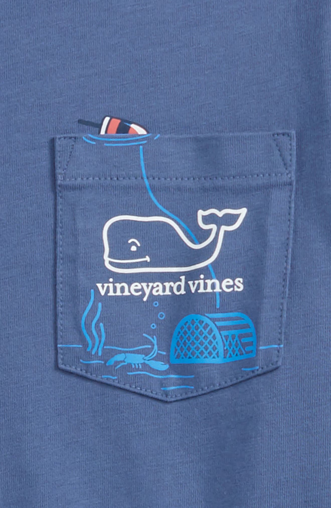 Alternate Image 2  - vineyard vines Lobster Trap Cotton T-Shirt (Big Boys)