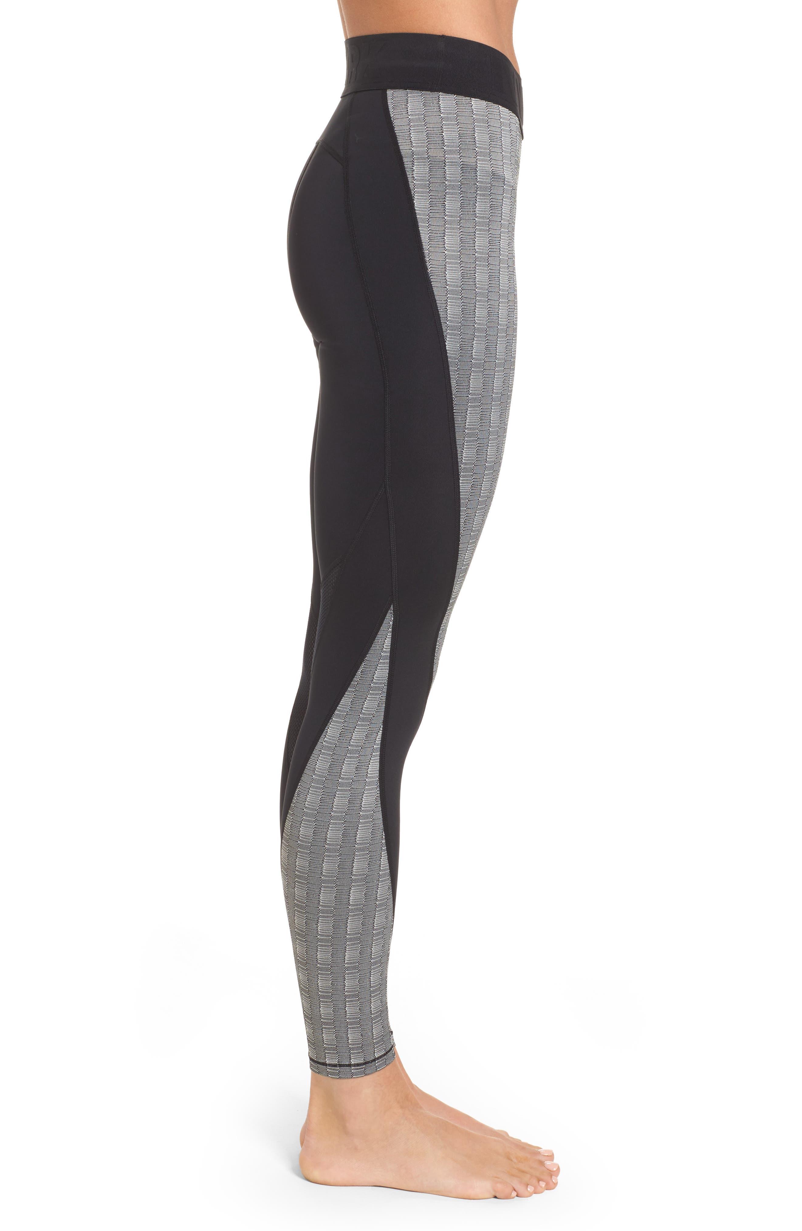 Alternate Image 3  - IVY PARK® Jacquard Block Ankle Leggings