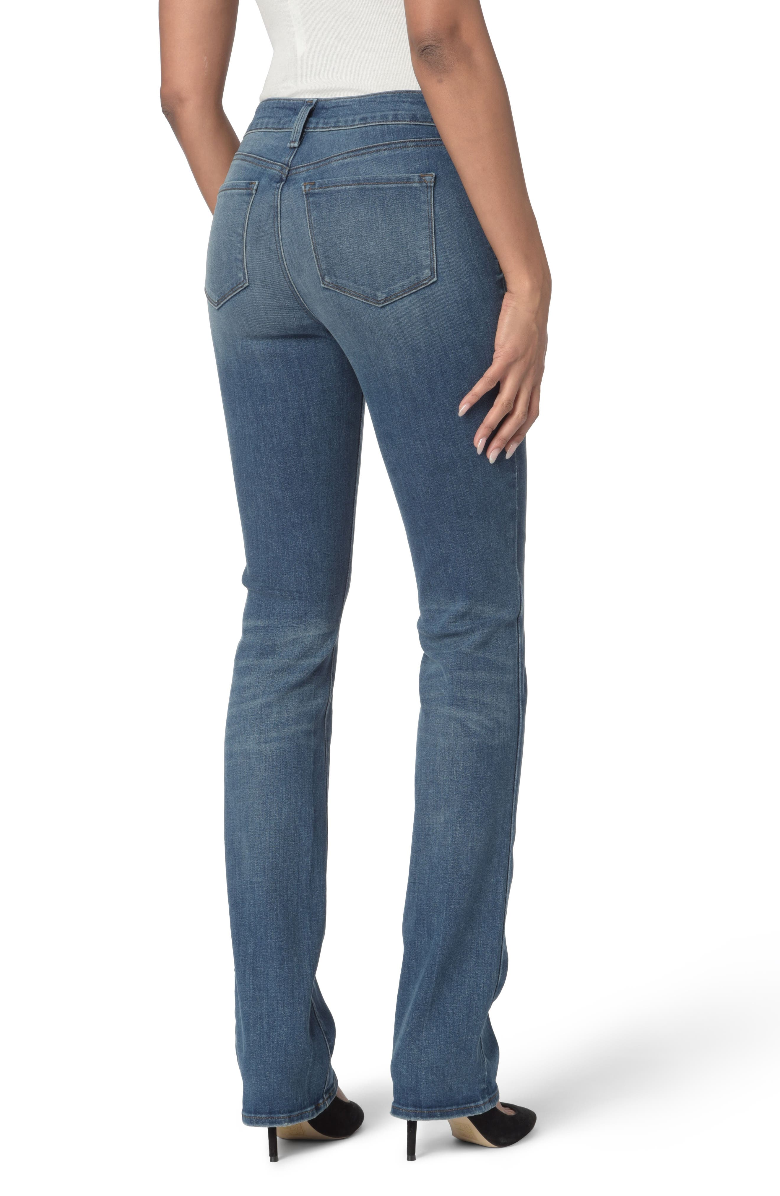 Marilyn Stretch Straight Leg Jeans,                             Alternate thumbnail 2, color,                             Noma