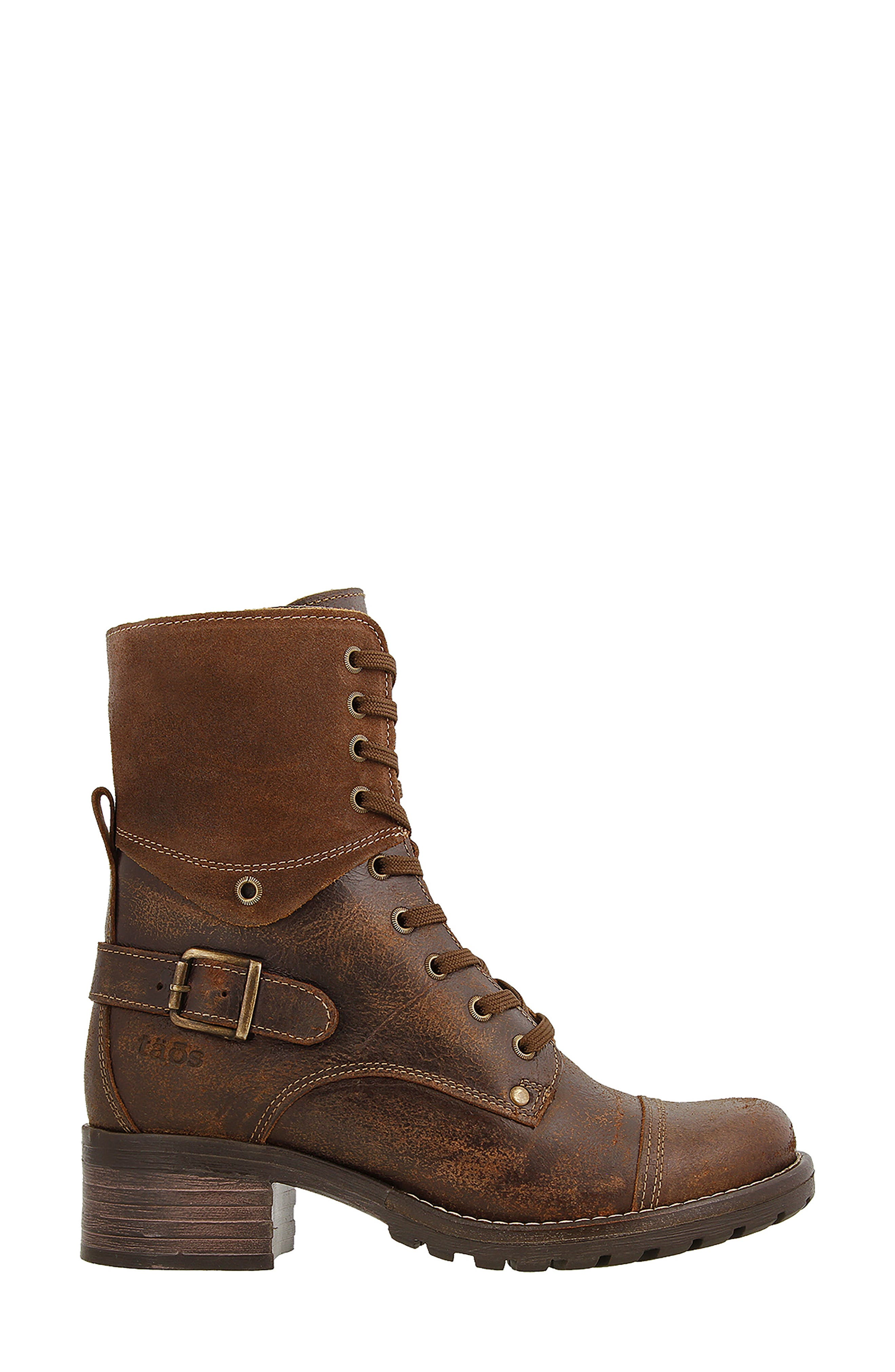 Crave Boot,                             Alternate thumbnail 3, color,                             Brown Leather