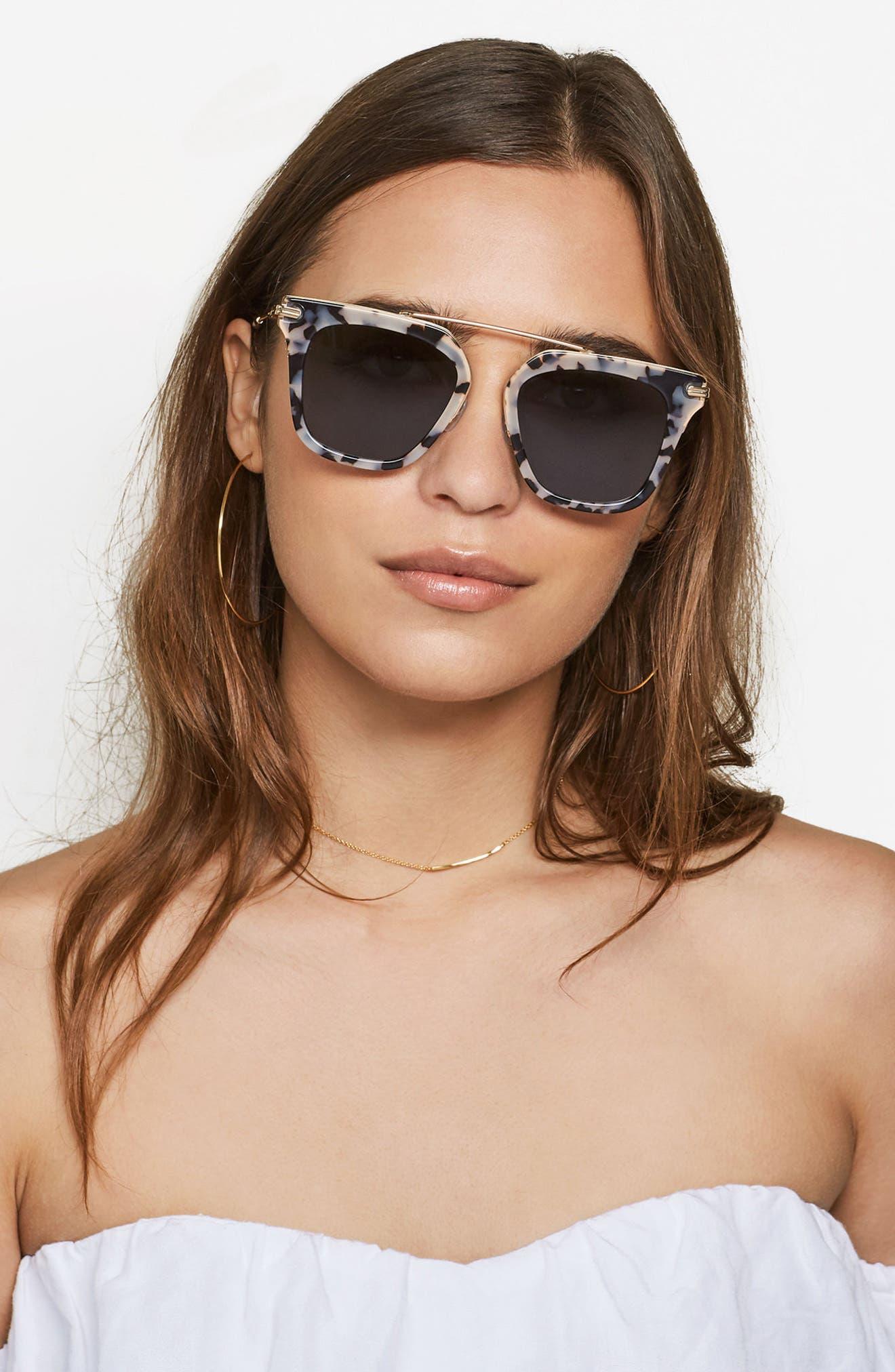 Parker 50mm Sunglasses,                             Alternate thumbnail 6, color,