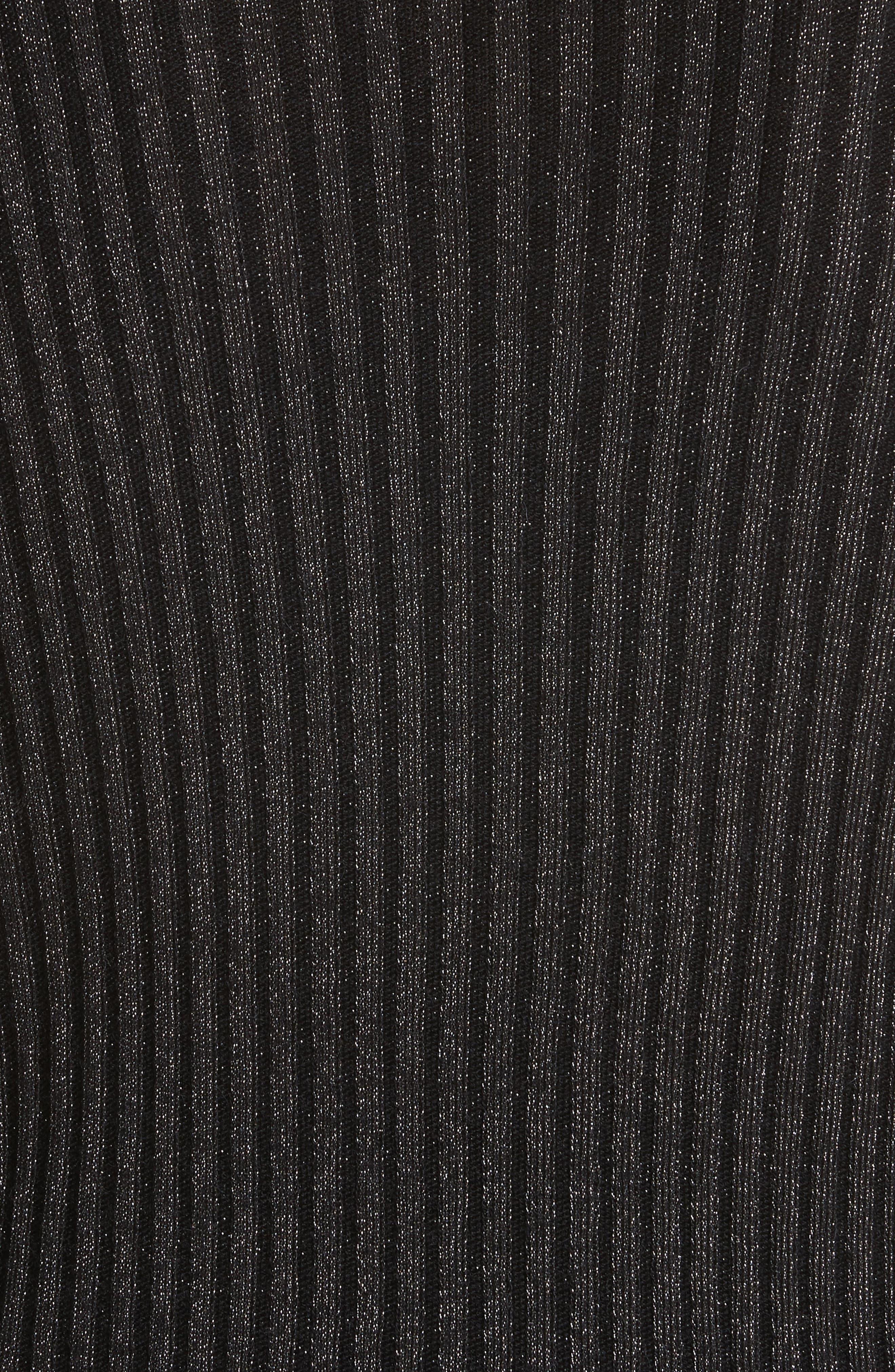 Alternate Image 6  - Rebecca Taylor Rib Turtleneck Pullover
