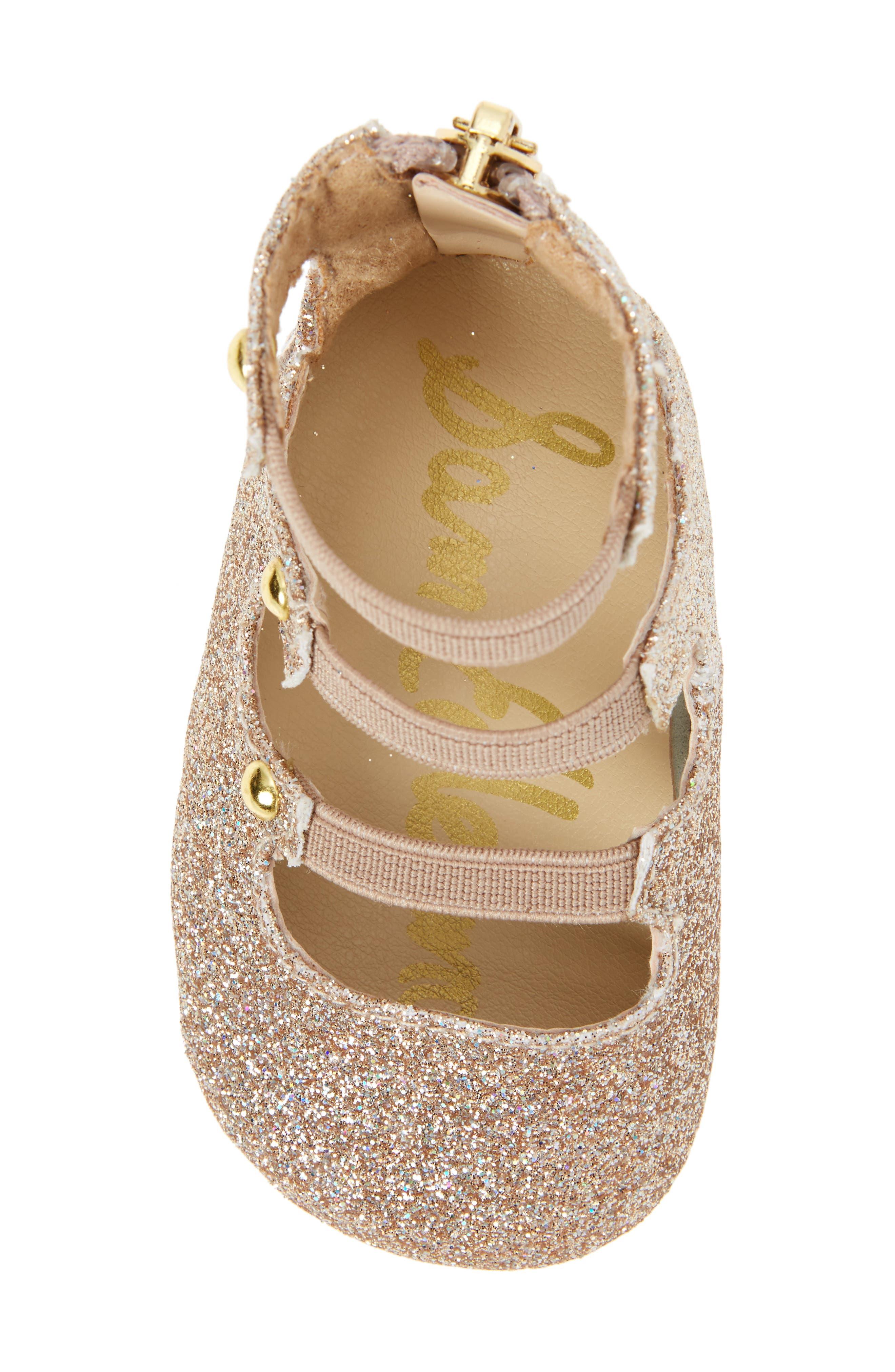 Alternate Image 5  - Sam Edelman Sasha Crib Shoe (Baby)