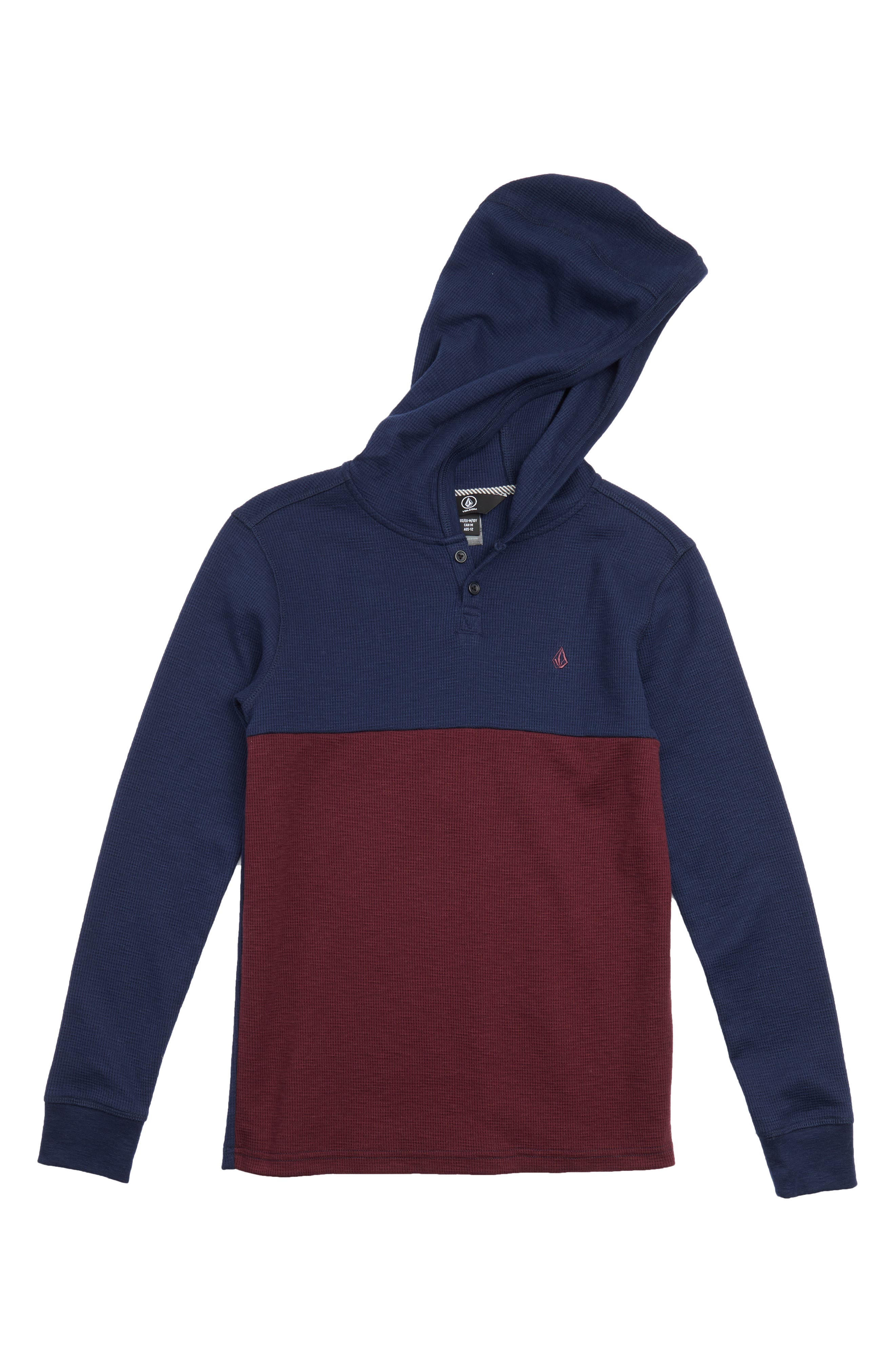 Volcom Murphy Thermal Hoodie (Big Boys)