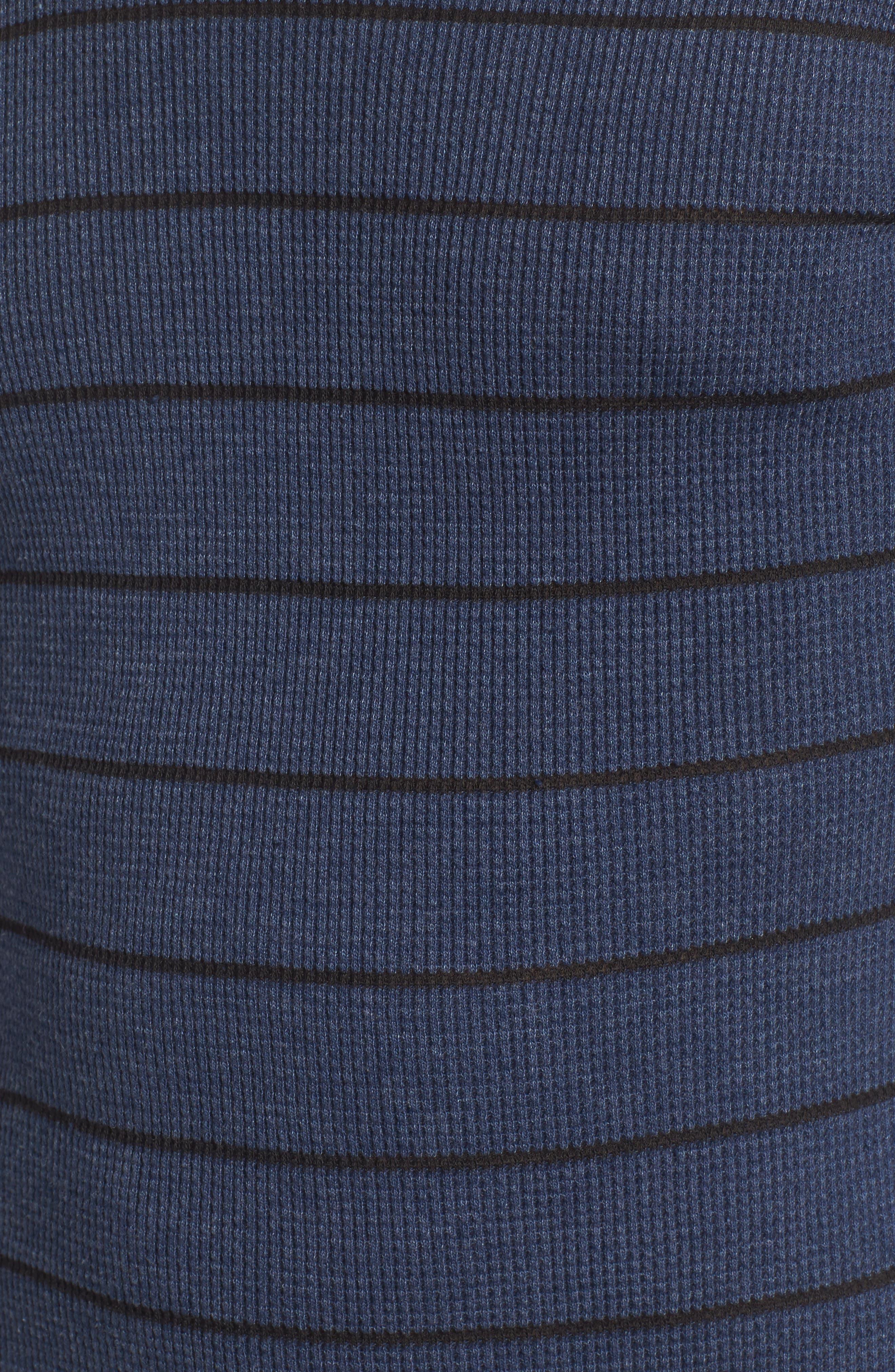 Alternate Image 5  - RVCA Neutral Stripe Thermal T-Shirt
