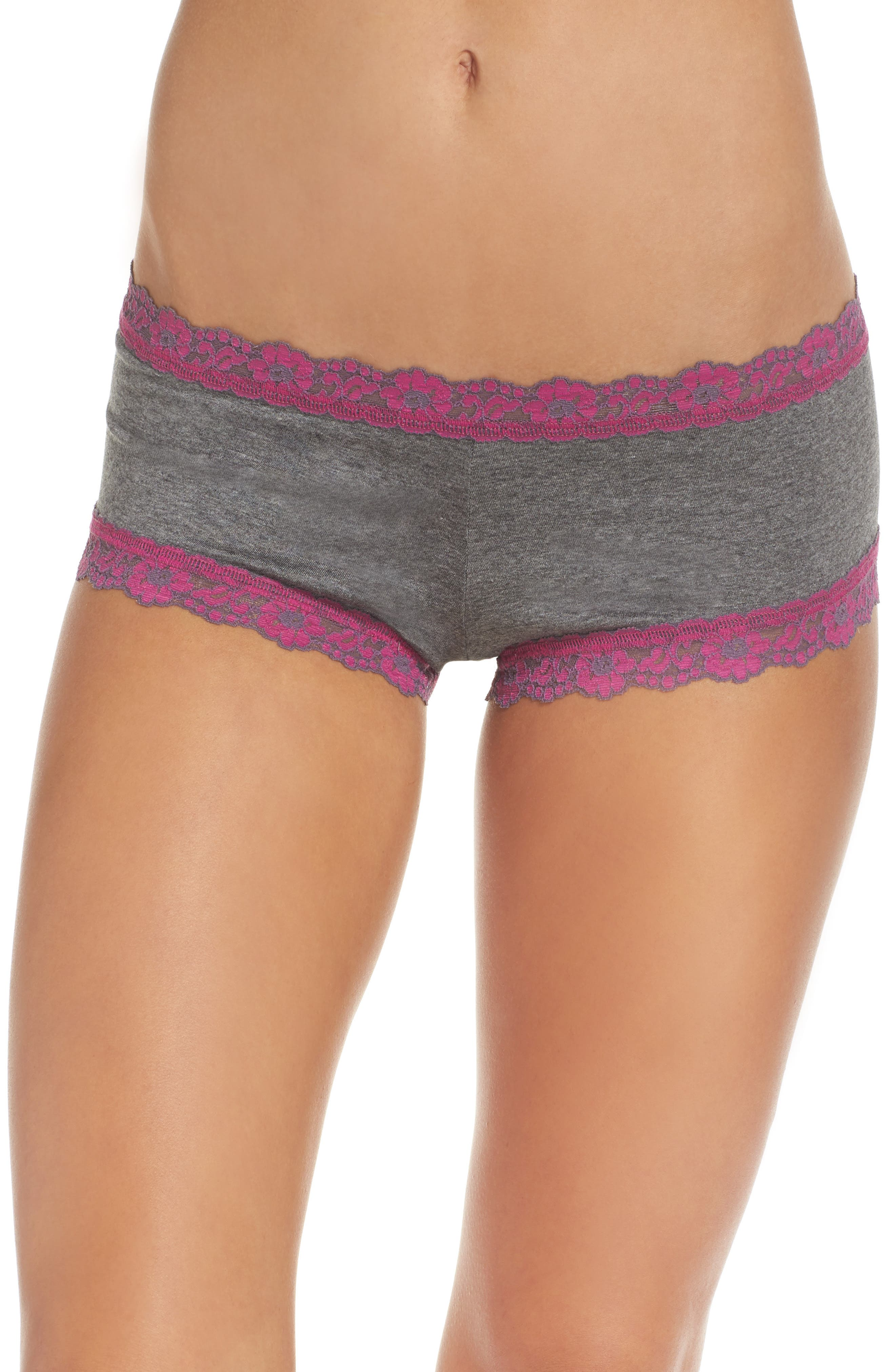 Hanky Panky Heather Jersey Boyshorts