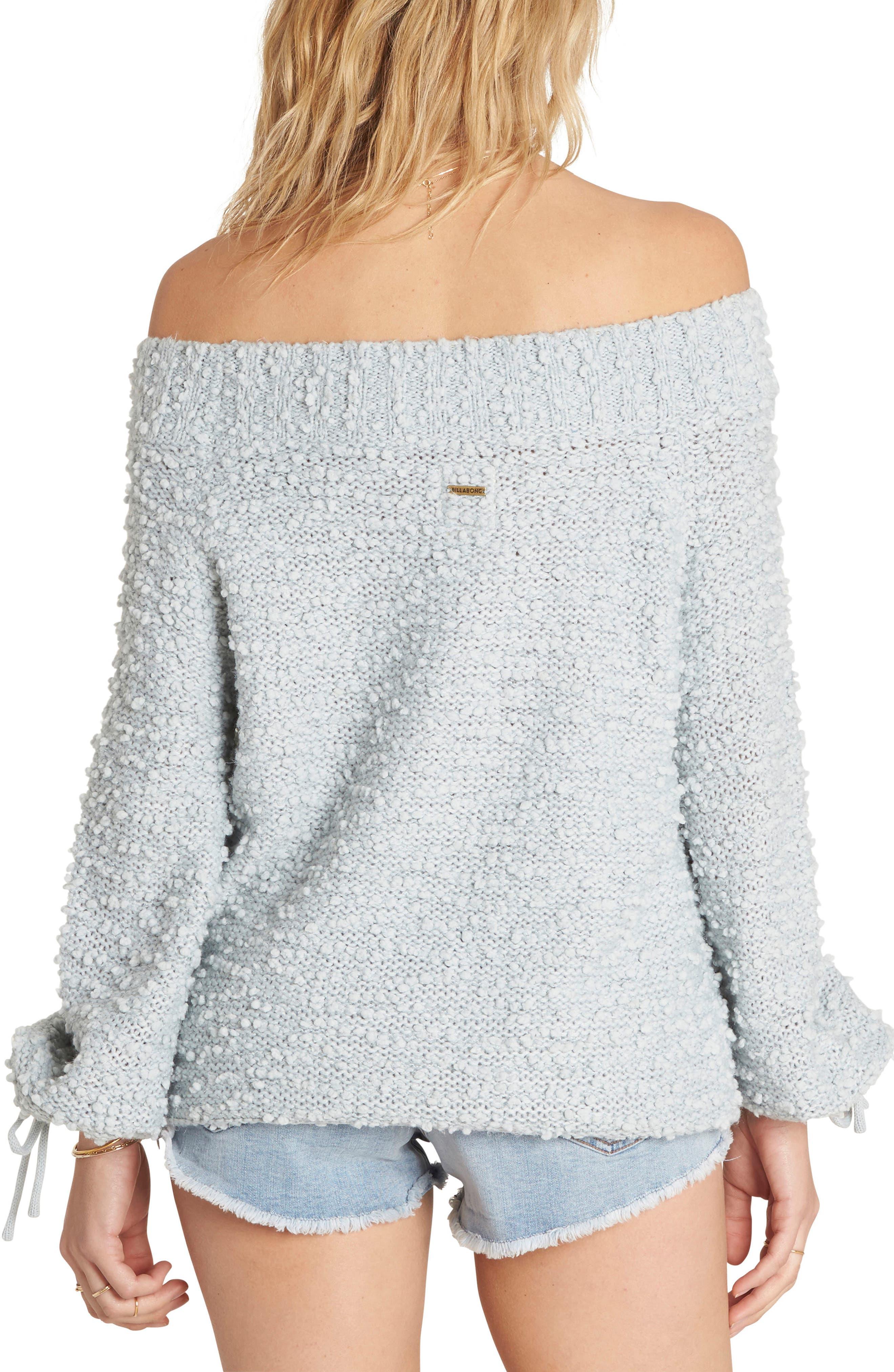 Alternate Image 2  - Billabong Furget Me Not Sweater